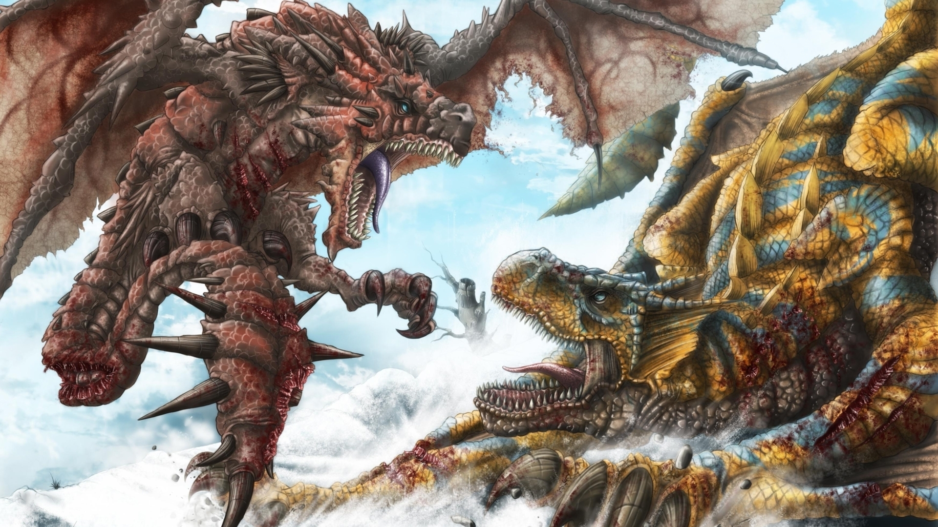 36984 Screensavers and Wallpapers Dragons for phone. Download Fantasy, Dragons pictures for free