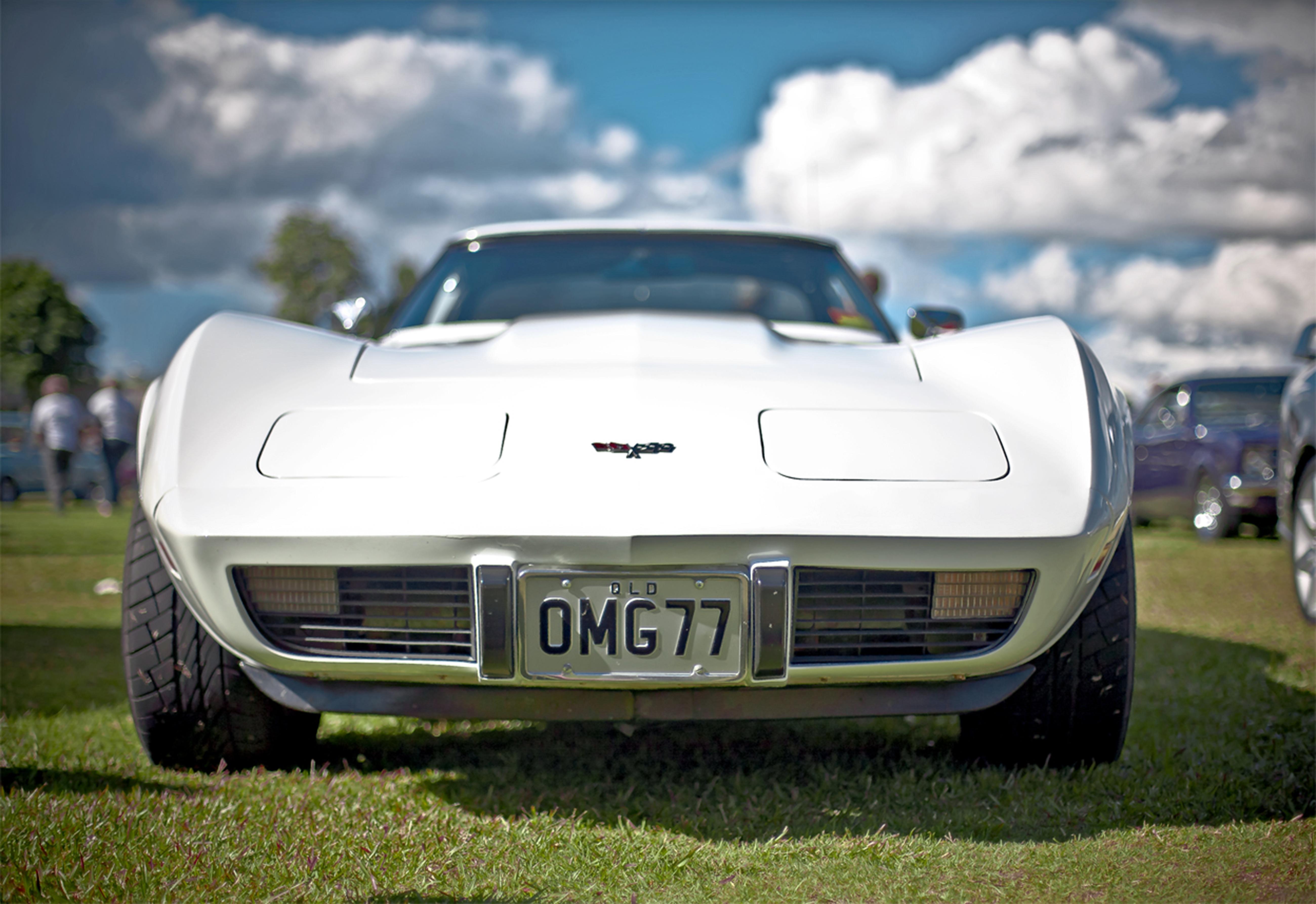 105807 скачать обои Машины, Тачки (Cars), Вид Спереди, Corvette, Roadster - заставки и картинки бесплатно