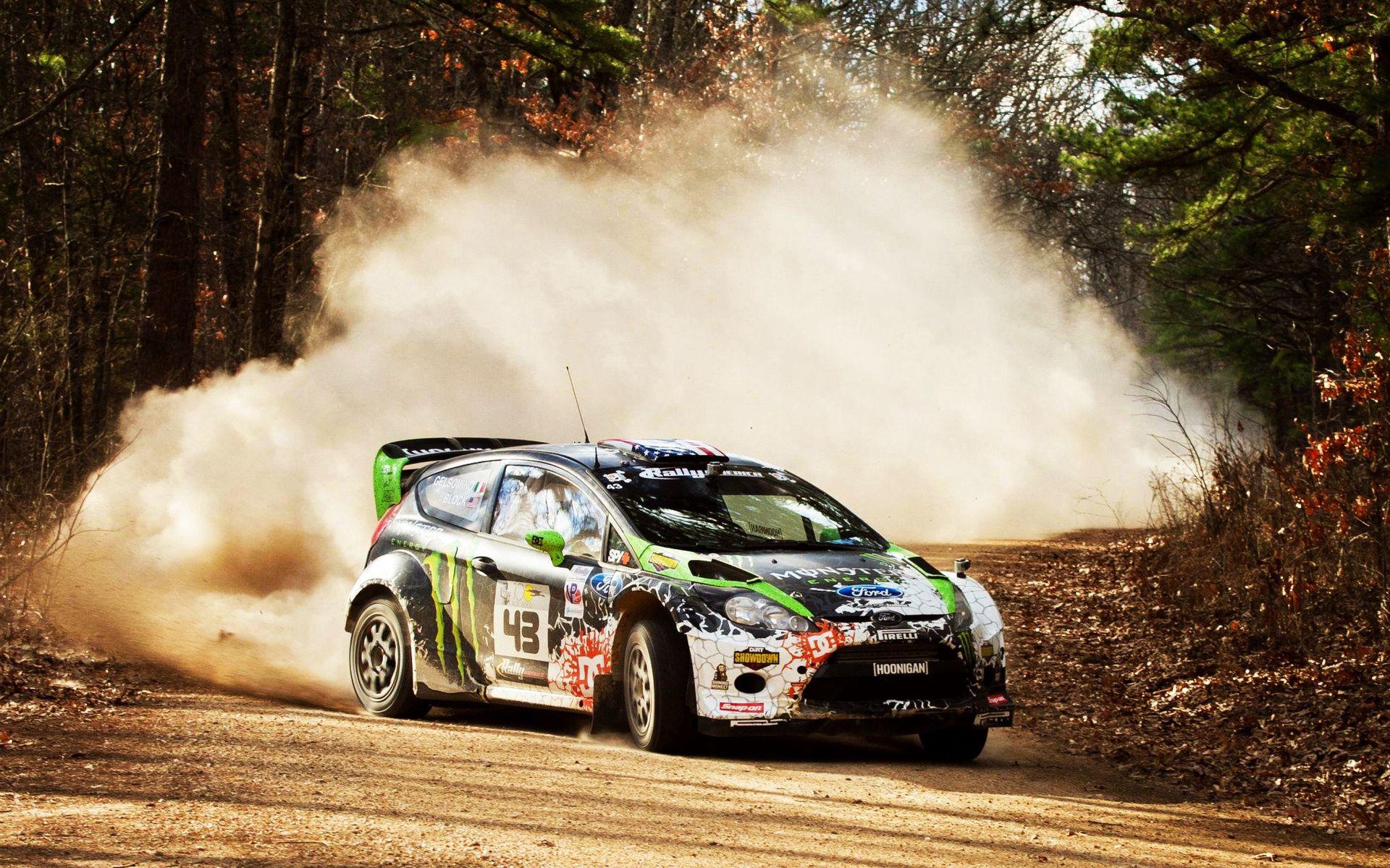 52215 Hintergrundbild herunterladen Rallye, Sport, Stones, Staub, Schmutz, 2012, Drift, Wrc, Ford Fiesta, Showdown - Bildschirmschoner und Bilder kostenlos