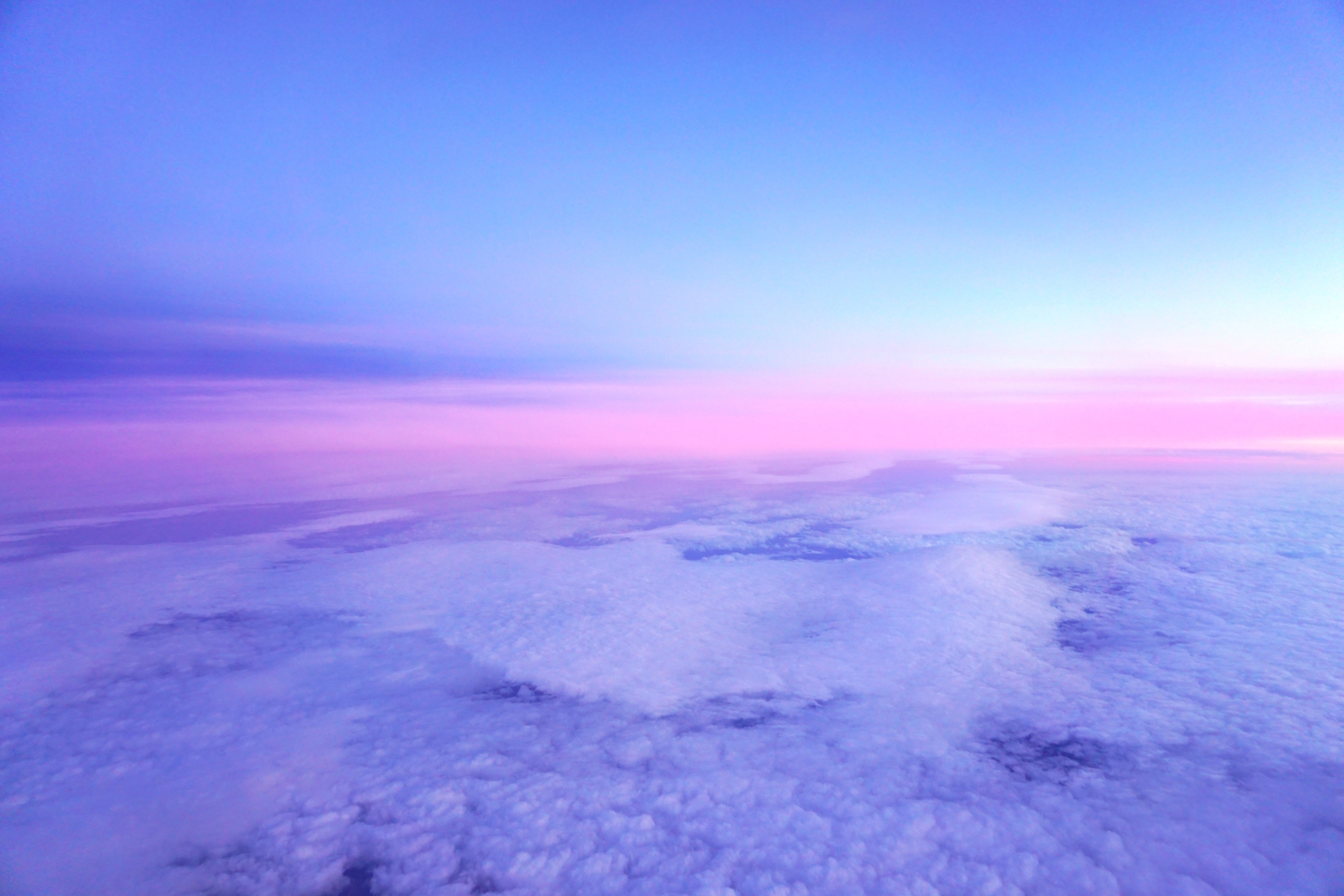 147497 Screensavers and Wallpapers Lilac for phone. Download Nature, Lilac, Pink, Clouds, Horizon, Porous pictures for free