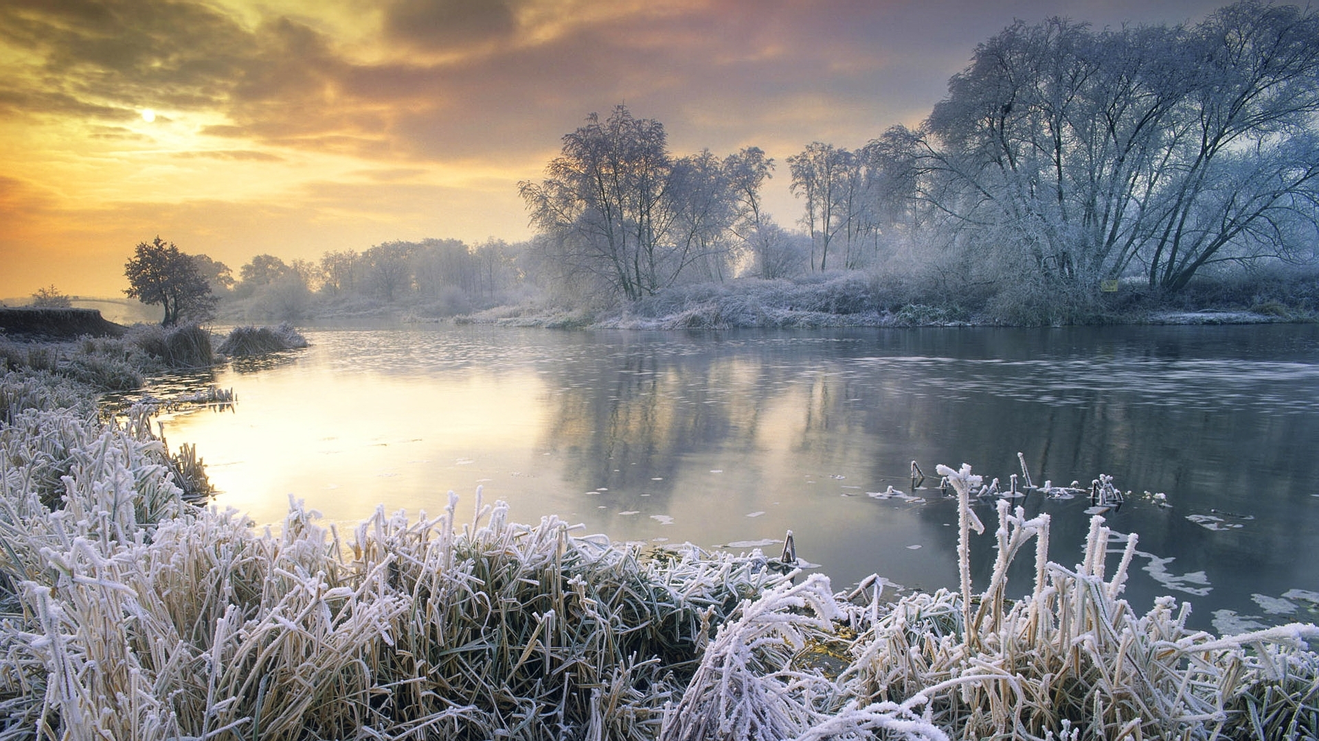 43802 download wallpaper Landscape, Winter screensavers and pictures for free