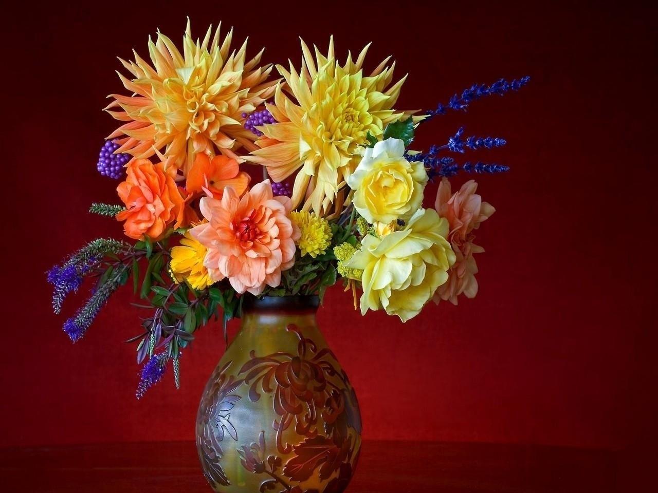 49603 скачать обои Растения, Цветы, Букеты - заставки и картинки бесплатно