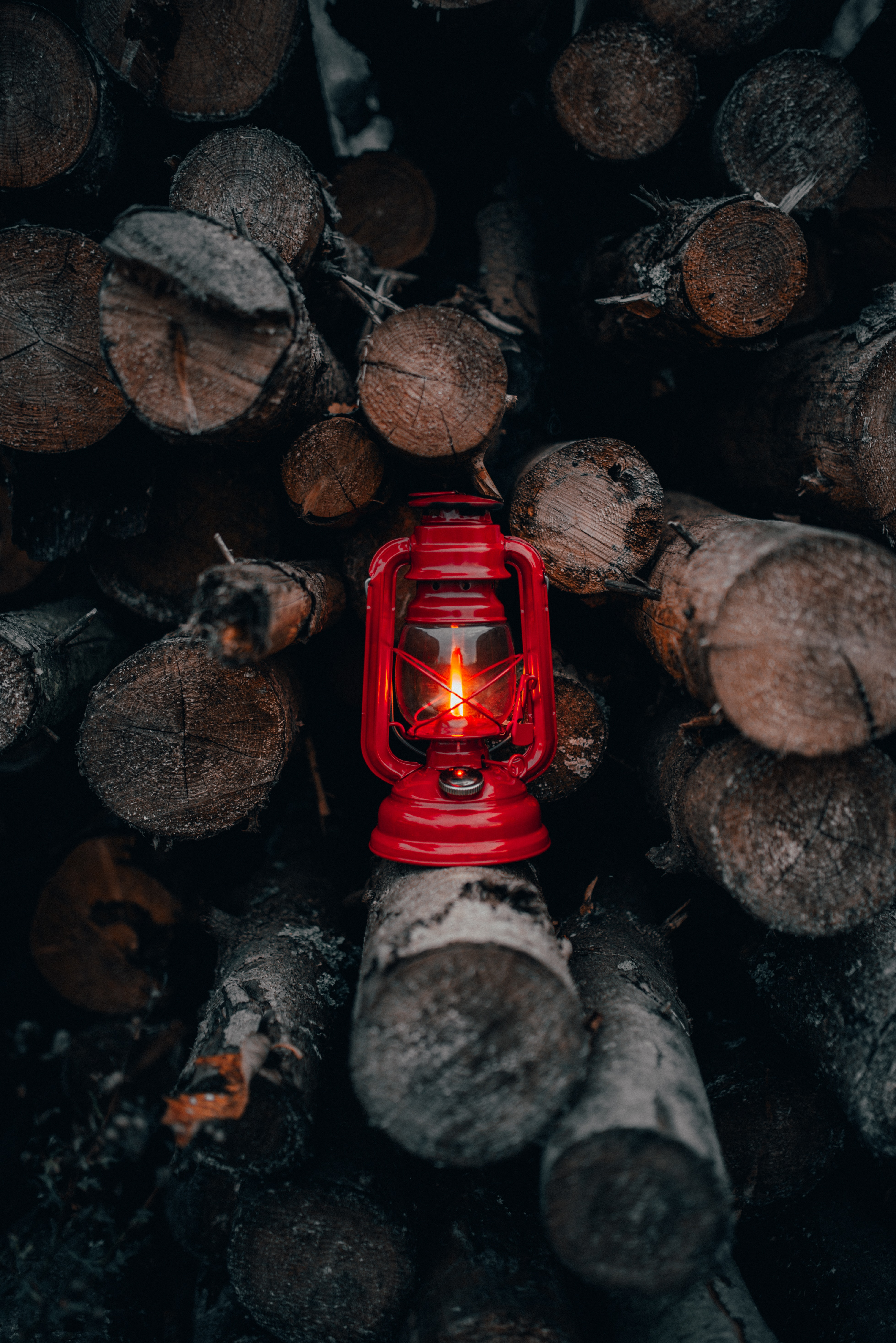 126642 download wallpaper Firewood, Fire, Shine, Light, Miscellanea, Miscellaneous, Lamp, Lantern screensavers and pictures for free