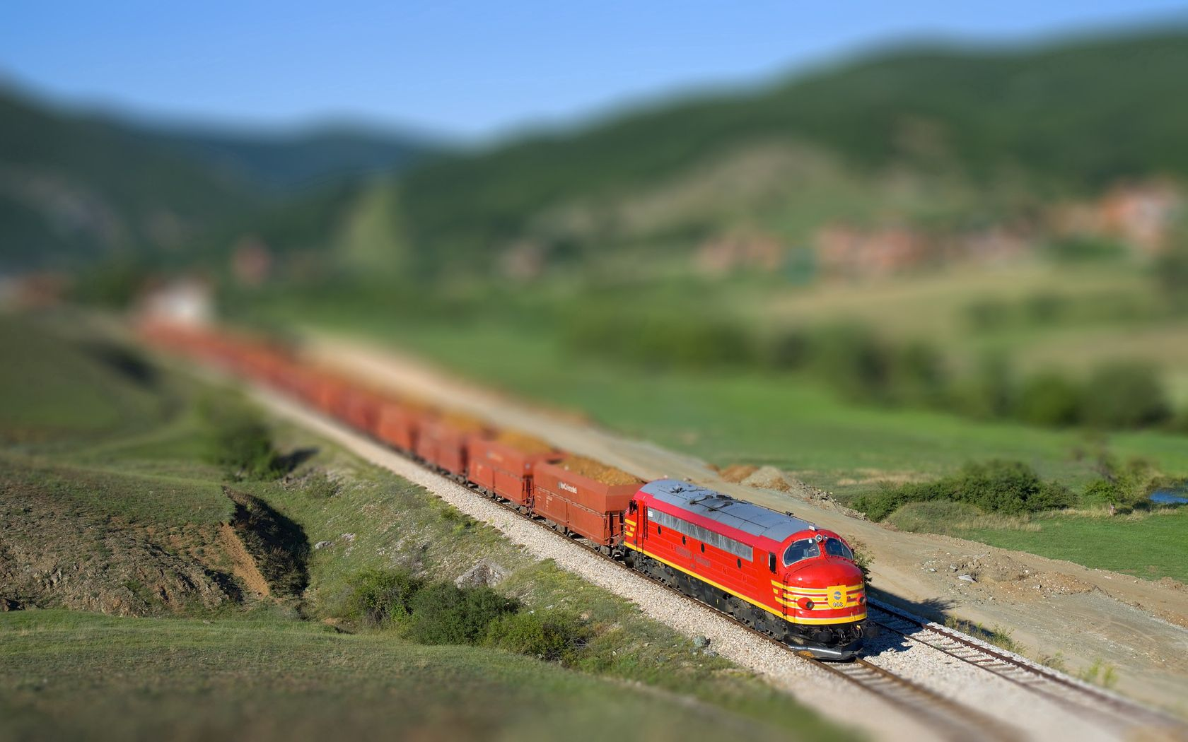 119329 Screensavers and Wallpapers Train for phone. Download Train, Nature, Miscellanea, Miscellaneous, Traffic, Movement, Railway pictures for free