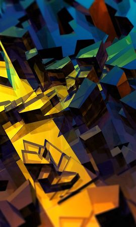 88878 baixar papel de parede Abstrato, Fundo, Brilhante, Brilhar, Luz, Fragmentos, Pedacinhos - protetores de tela e imagens gratuitamente