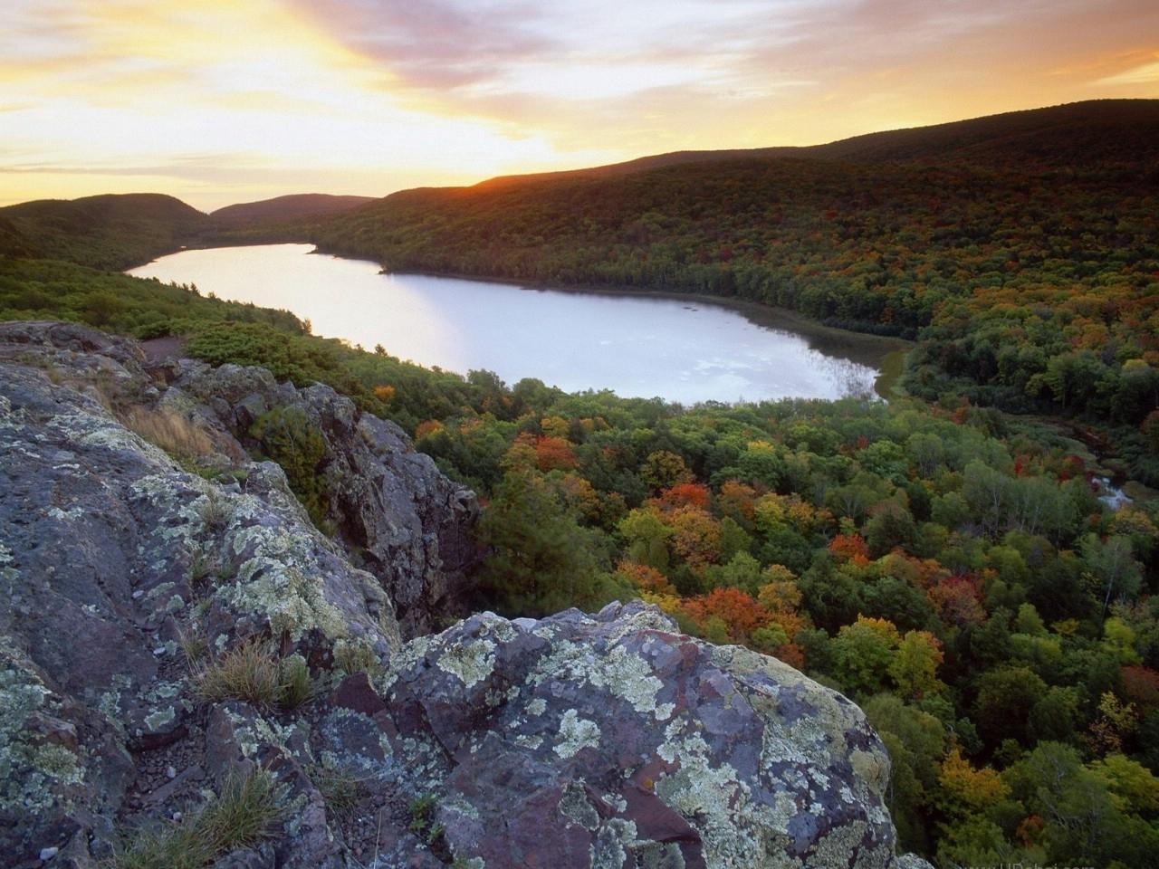 23415 скачать обои Пейзаж, Река, Деревья - заставки и картинки бесплатно