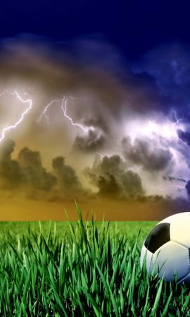 6816 скачать обои Спорт, Небо, Футбол - заставки и картинки бесплатно
