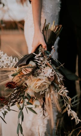 86657 Заставки и Обои Свадьба на телефон. Скачать Цветы, Букет, Руки, Свадьба картинки бесплатно