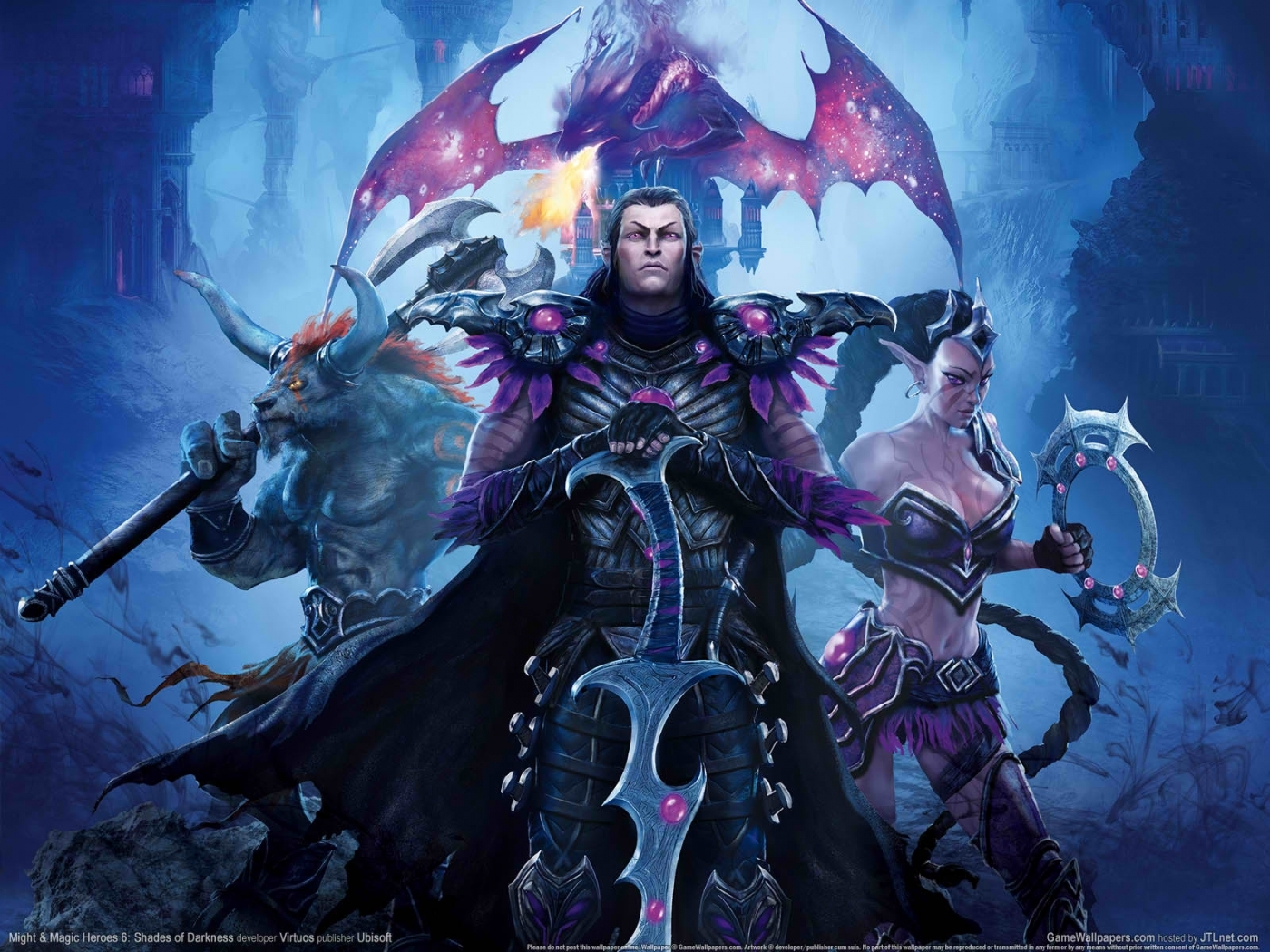 23711 download wallpaper Games, Heroes Of Might And Magic screensavers and pictures for free