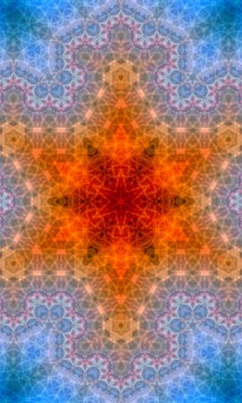 157944 download wallpaper Abstract, Kaleidoscope, Pattern, Stars screensavers and pictures for free