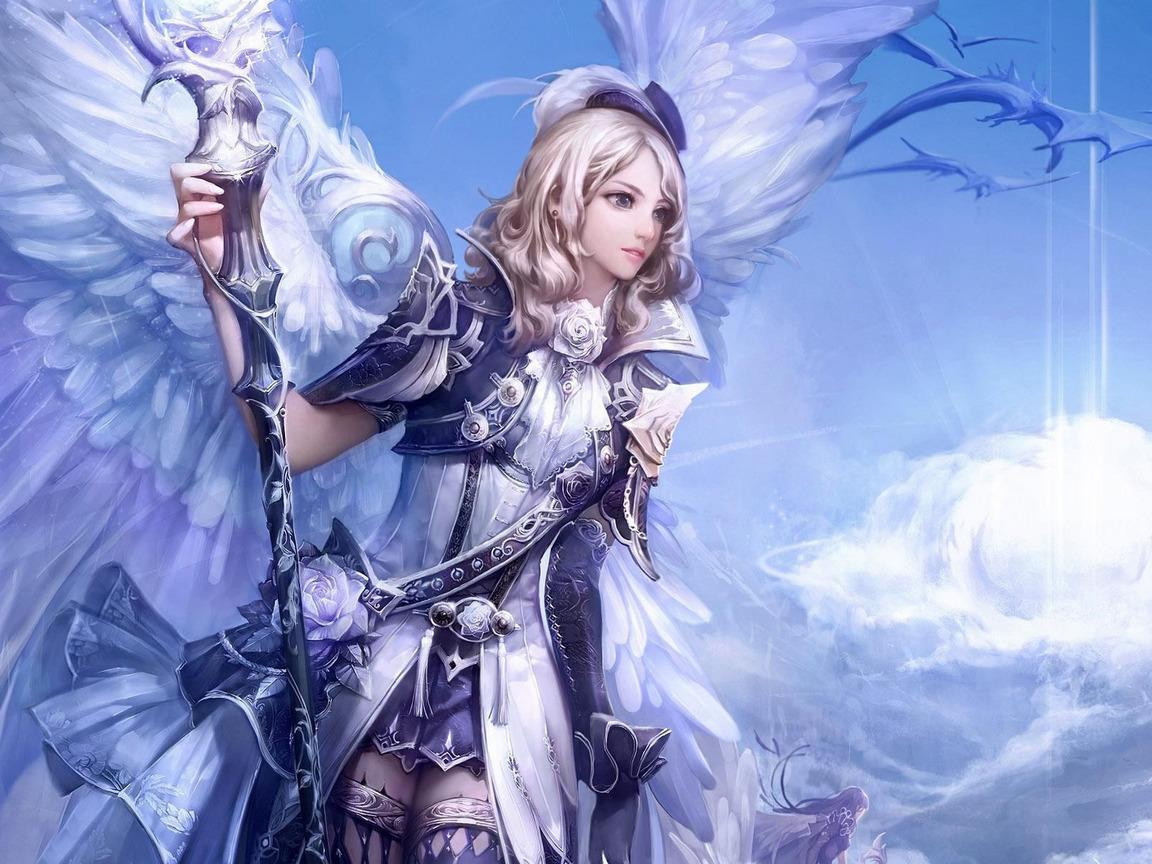 20942 Protetores de tela e papéis de parede Anjos em seu telefone. Baixe Meninas, Fantasia, Anjos fotos gratuitamente