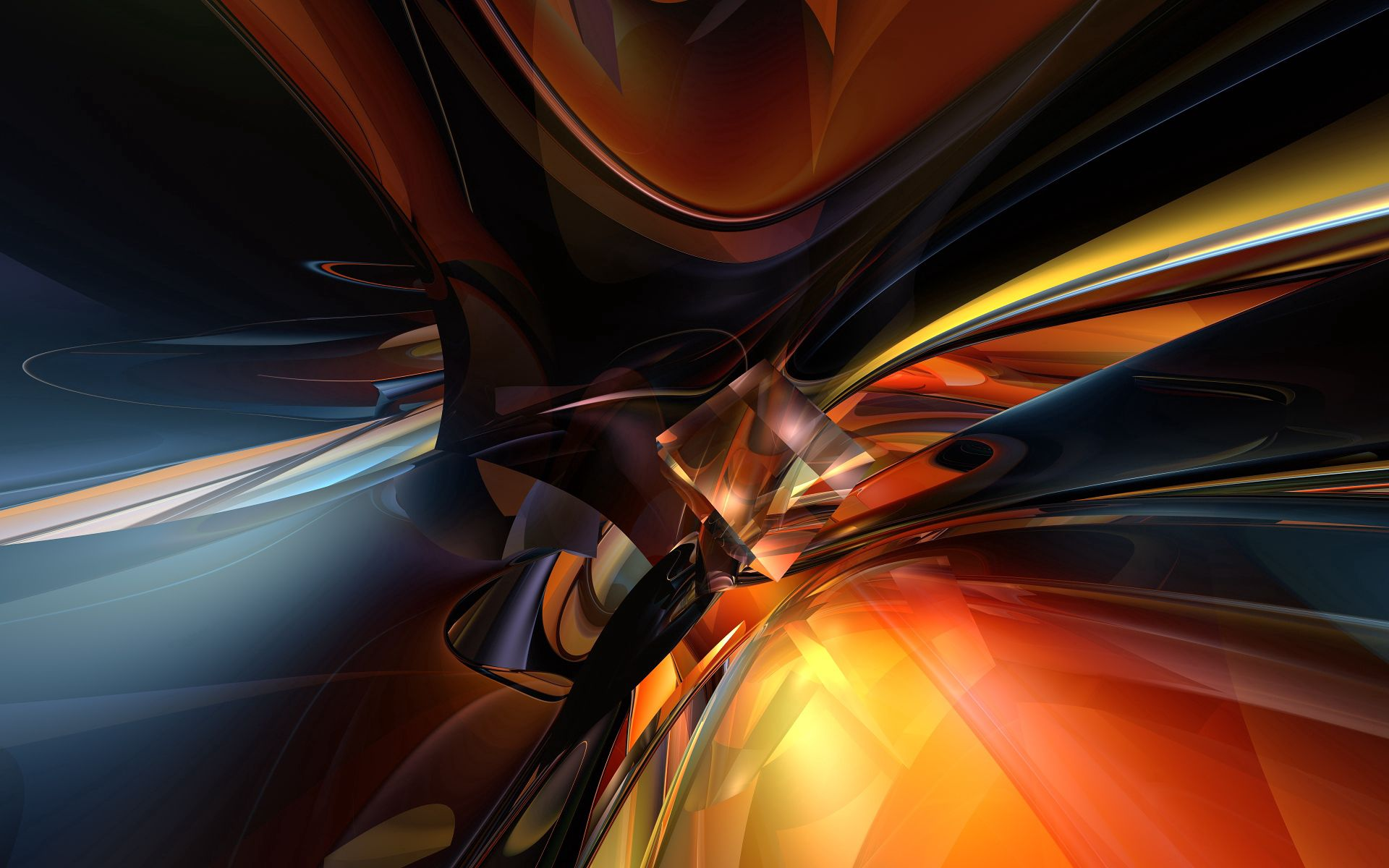 109171 download wallpaper Abstract, Immersion, Shine, Light, Stains, Spots screensavers and pictures for free
