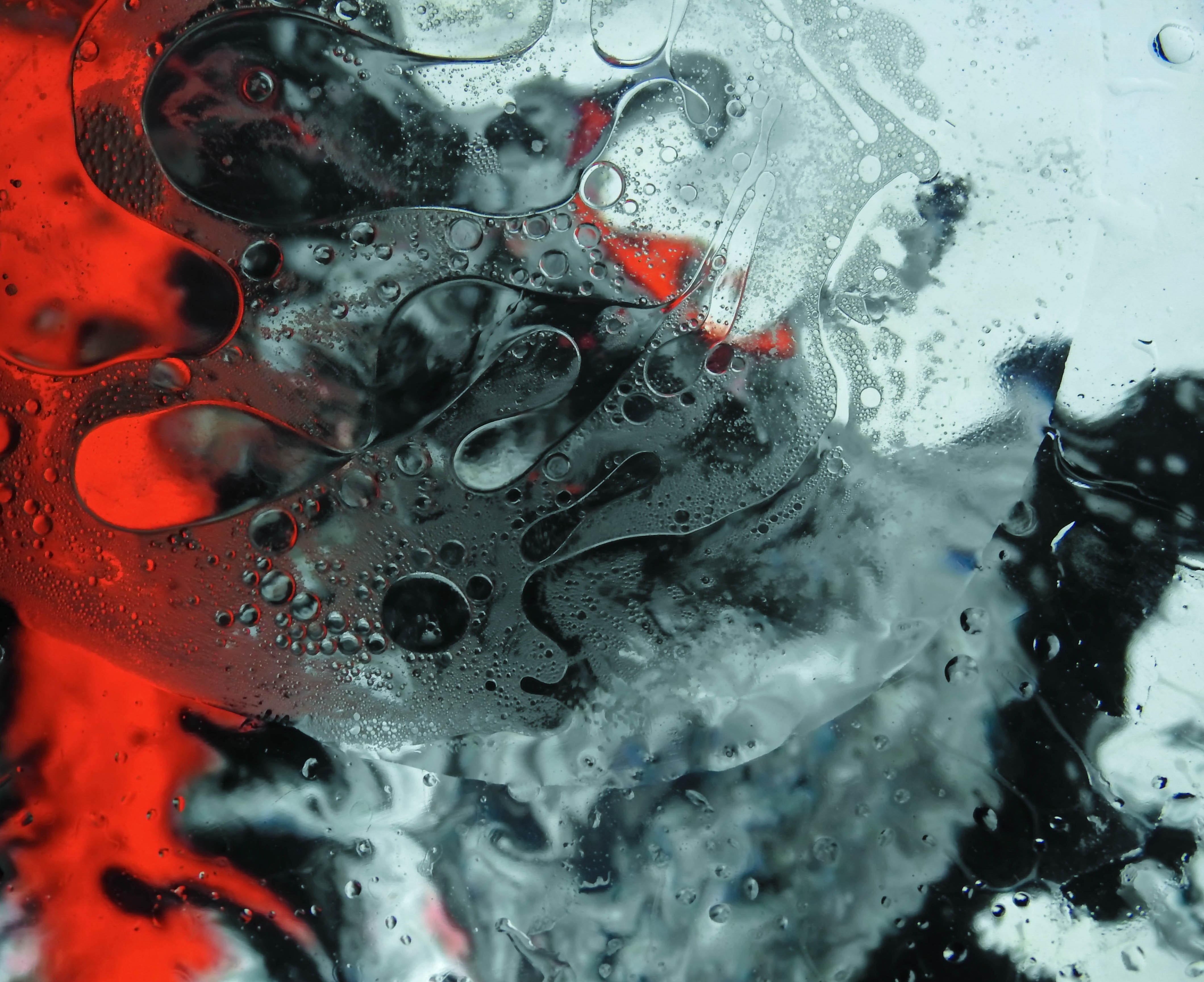 77662 download wallpaper Abstract, Divorces, Liquid, Bubbles screensavers and pictures for free