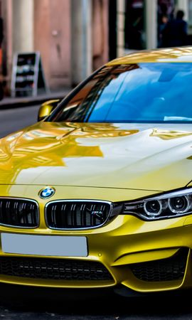 59439 завантажити Жовтий шпалери на телефон безкоштовно, Тачки, Машини, Вид Збоку, Стиль Жовтий картинки і заставки на мобільний