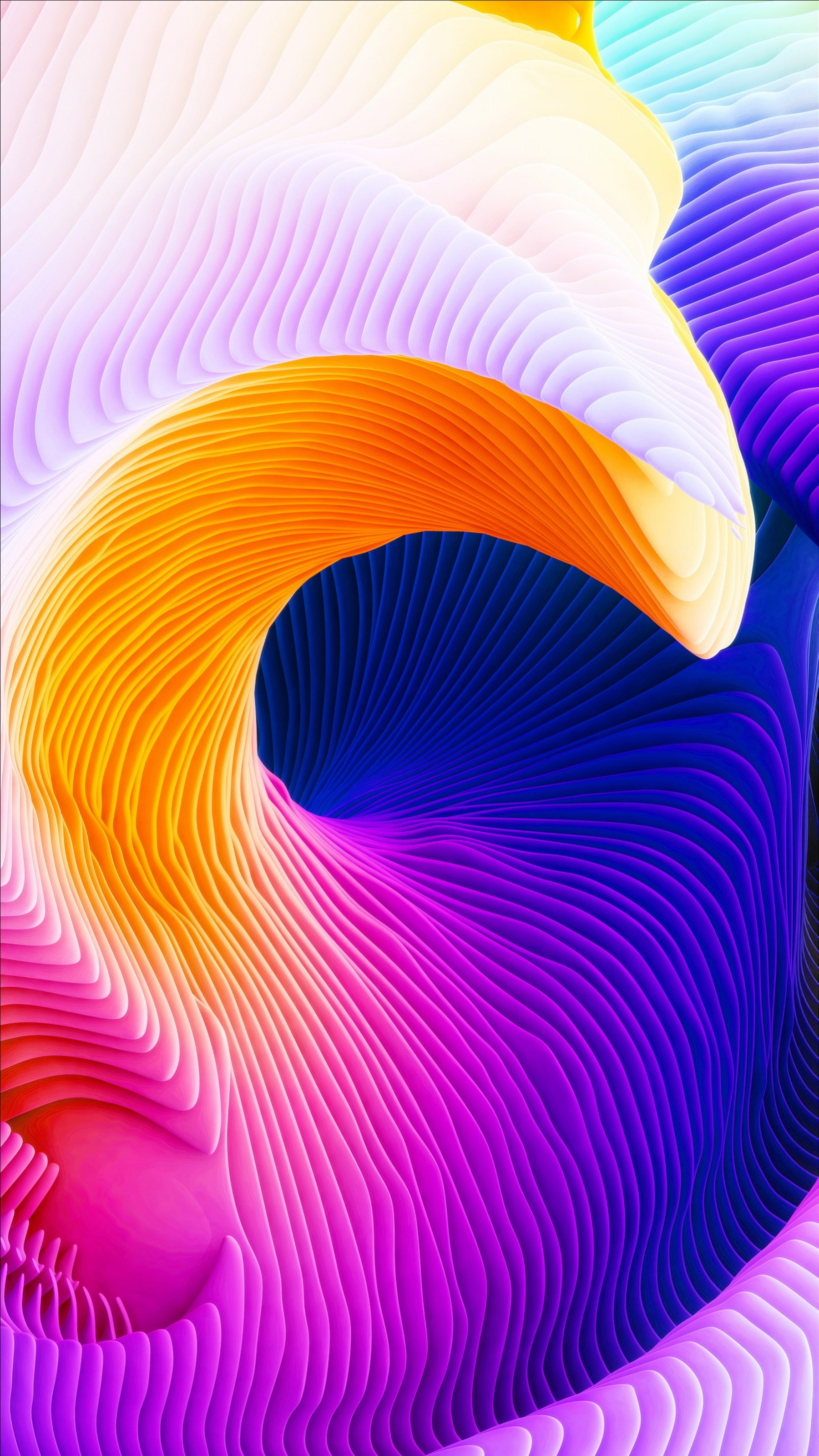 51448 download wallpaper 3D, Surface, Relief, Winding, Sinuous, Raised screensavers and pictures for free
