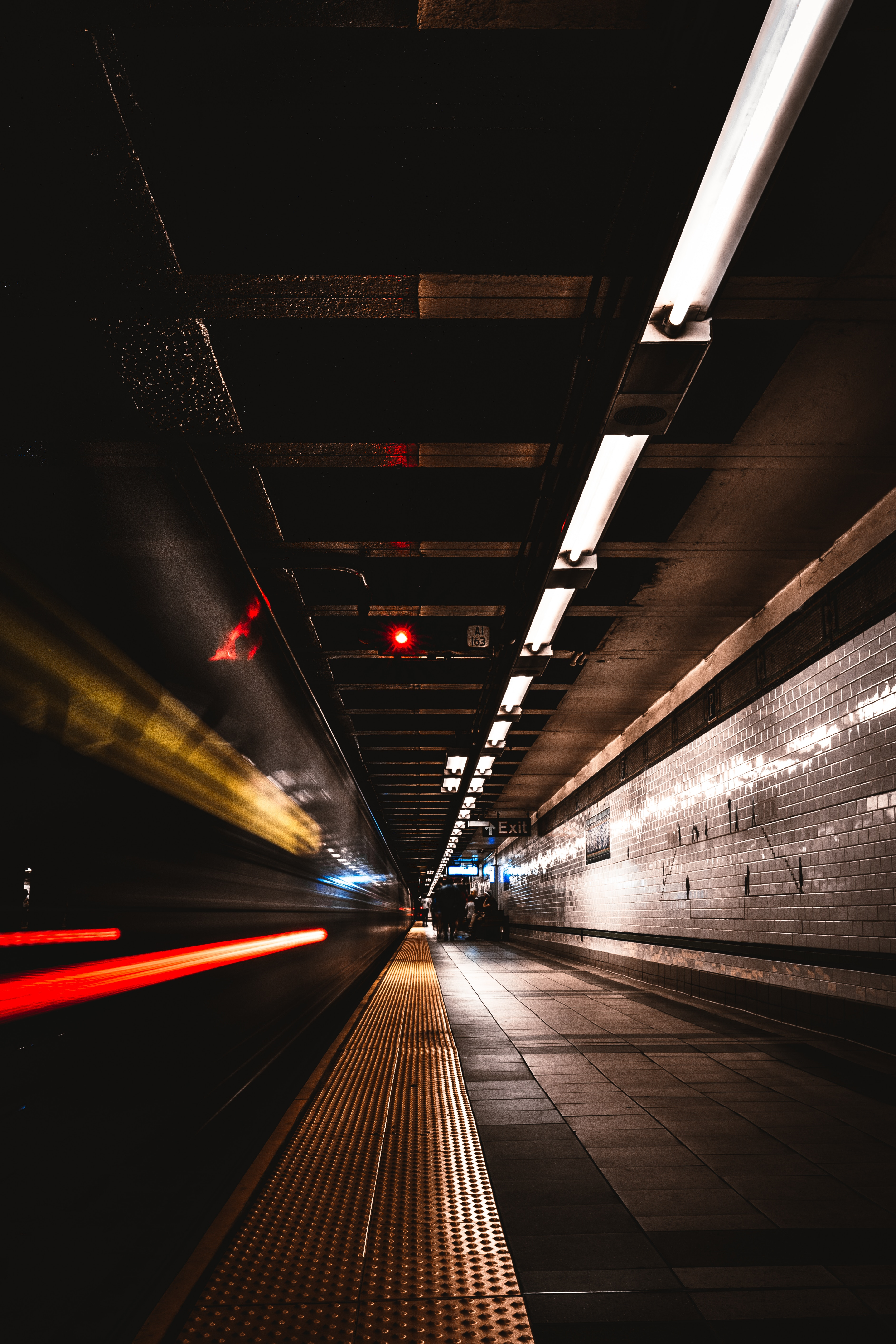 142124 Screensavers and Wallpapers Metro for phone. Download Dark, Shine, Light, Miscellanea, Miscellaneous, Station, Underground, Metro, Subway pictures for free