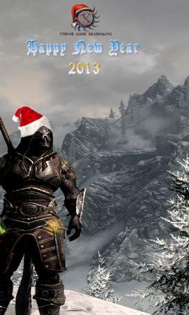 17183 скачать обои Юмор, Игры, Праздники, Новый Год (New Year) - заставки и картинки бесплатно