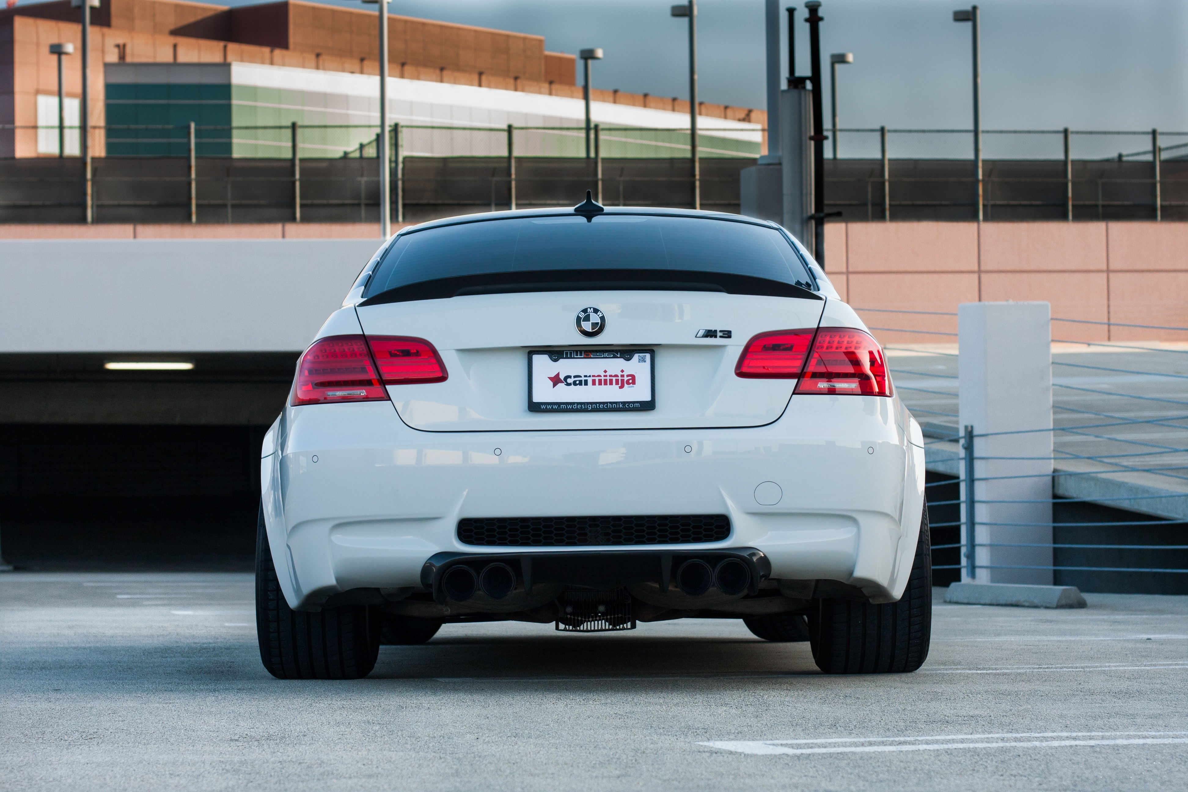 126854 download wallpaper Cars, Bmw, M3, E92, Auto, Back View, Rear View screensavers and pictures for free
