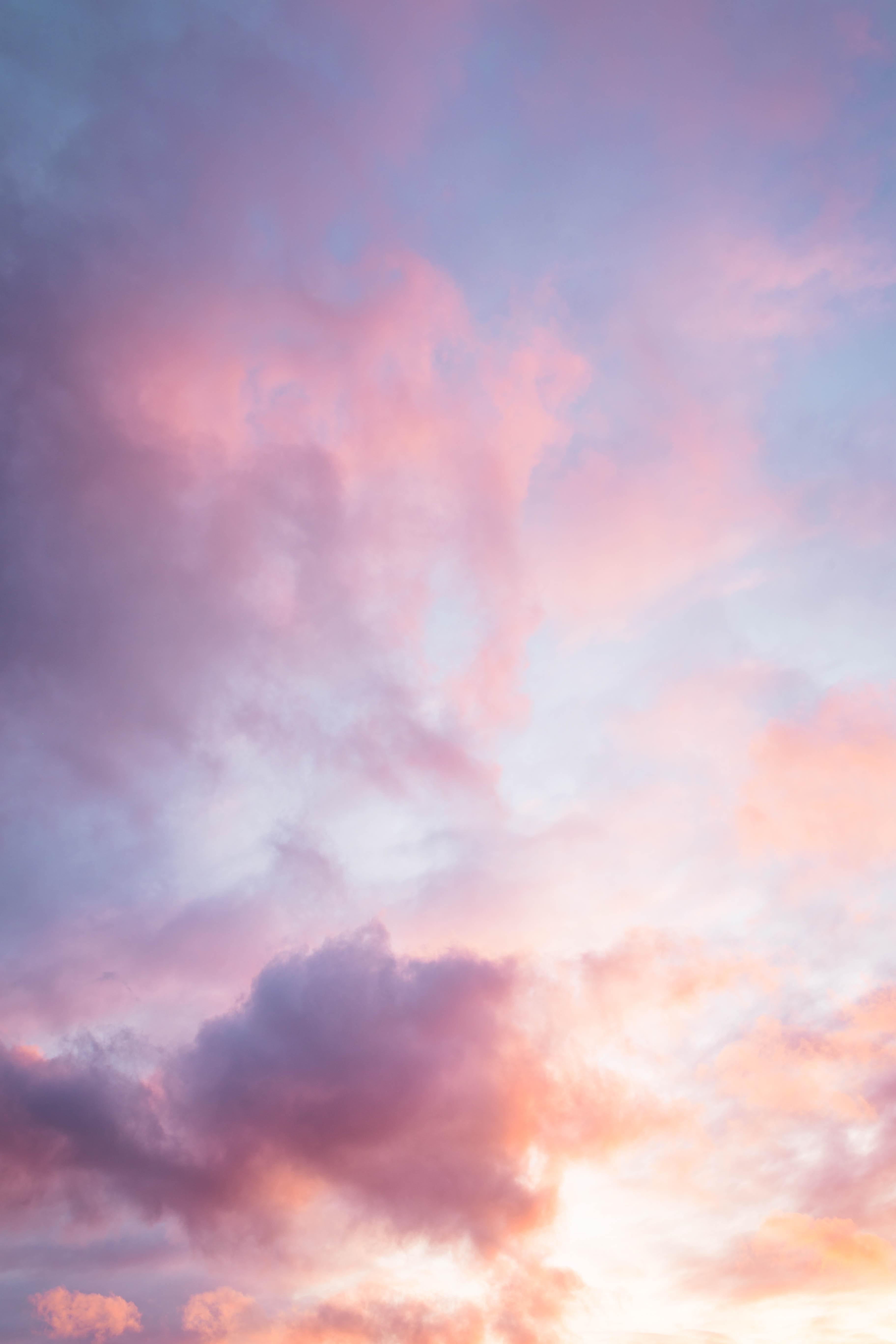 免費壁紙73573:性质, 云, 日落, 天空, 粉色的, 粉色, 黄昏, 晚上 下載手機圖片