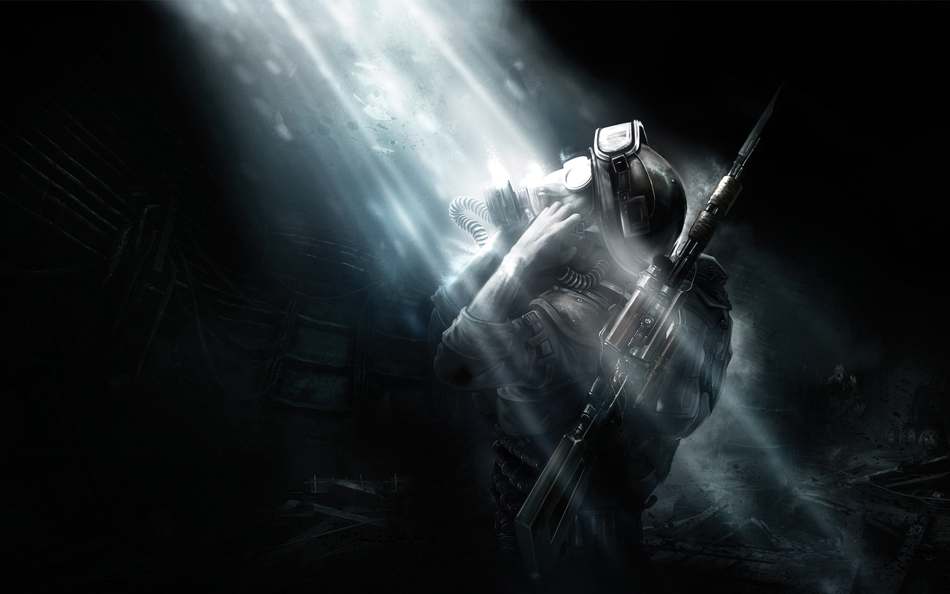 29653 download wallpaper Games, Metro 2033 screensavers and pictures for free