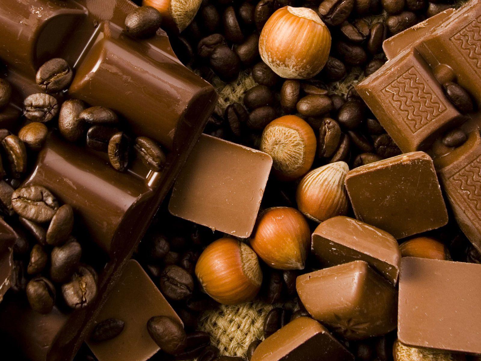 72332 скачать обои Еда, Шоколад, Орехи, Вкусно - заставки и картинки бесплатно