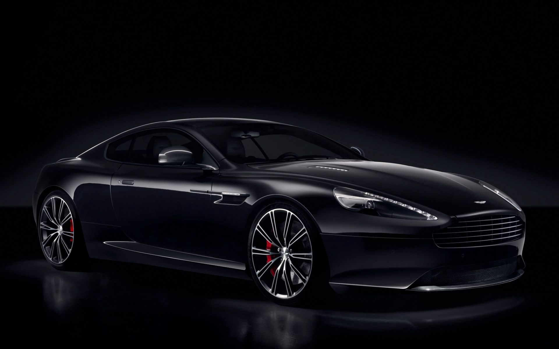 54942 Screensavers and Wallpapers Aston Martin for phone. Download Aston Martin, Cars, Side View, Db9, Carbon Black pictures for free