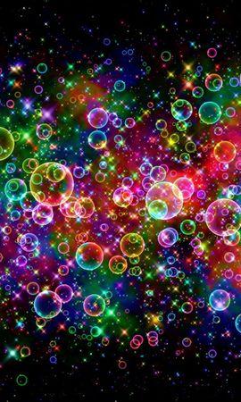 107745 скачать обои Абстракция, Разноцветный, Яркий, Пузыри - заставки и картинки бесплатно
