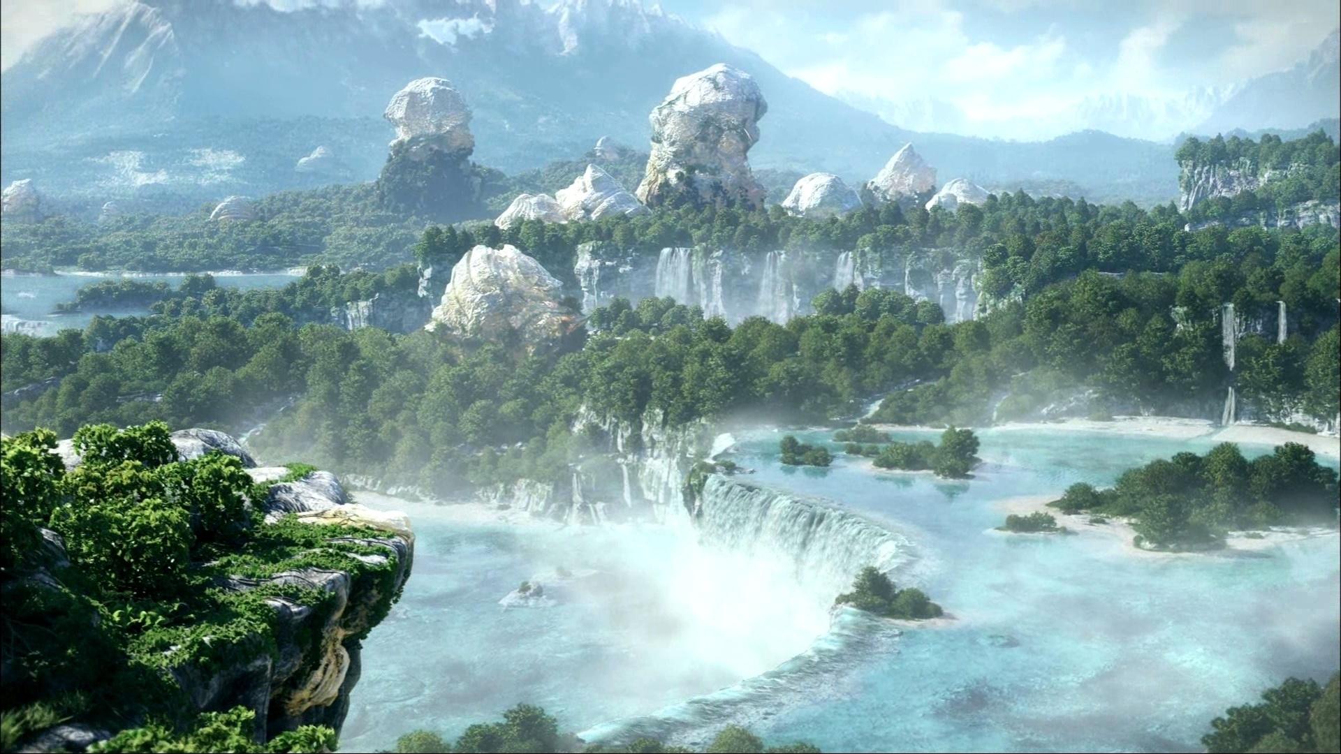 46926 скачать обои Пейзаж, Природа, Водопады - заставки и картинки бесплатно