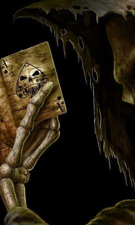 23310 скачать обои Фэнтези, Смерть, Скелеты - заставки и картинки бесплатно