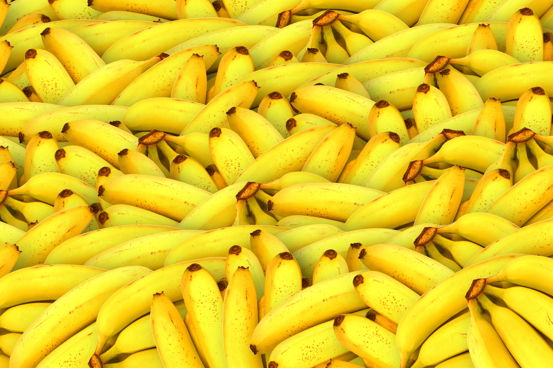 53001 скачать обои Еда, Желтый, Фрукты, Бананы - заставки и картинки бесплатно