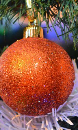 137565 скачать обои Праздники, Рождественский Шар, Украшение, Декорация, Новый Год - заставки и картинки бесплатно