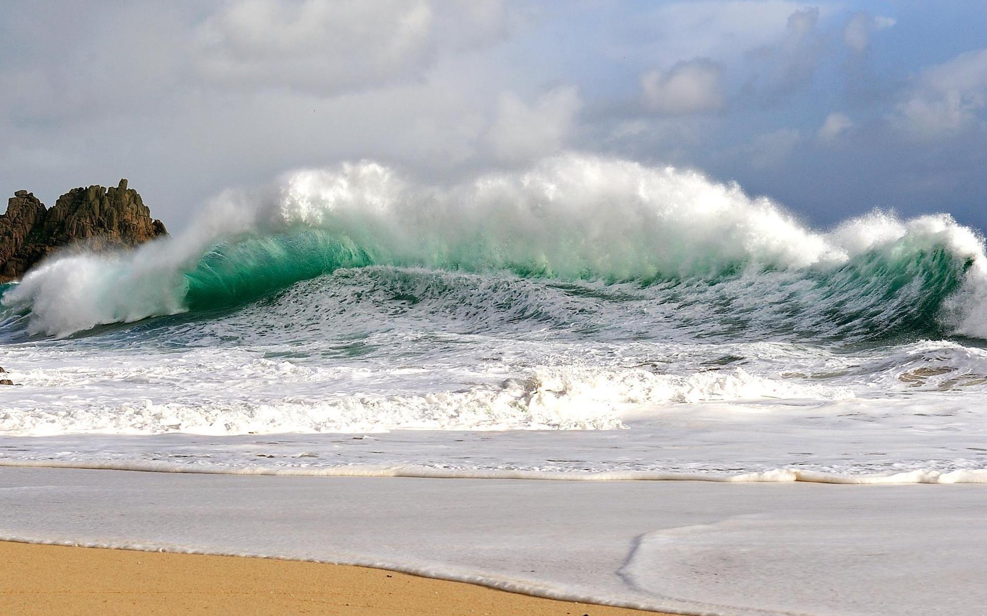 28389 скачать обои Пейзаж, Волны, Пляж - заставки и картинки бесплатно