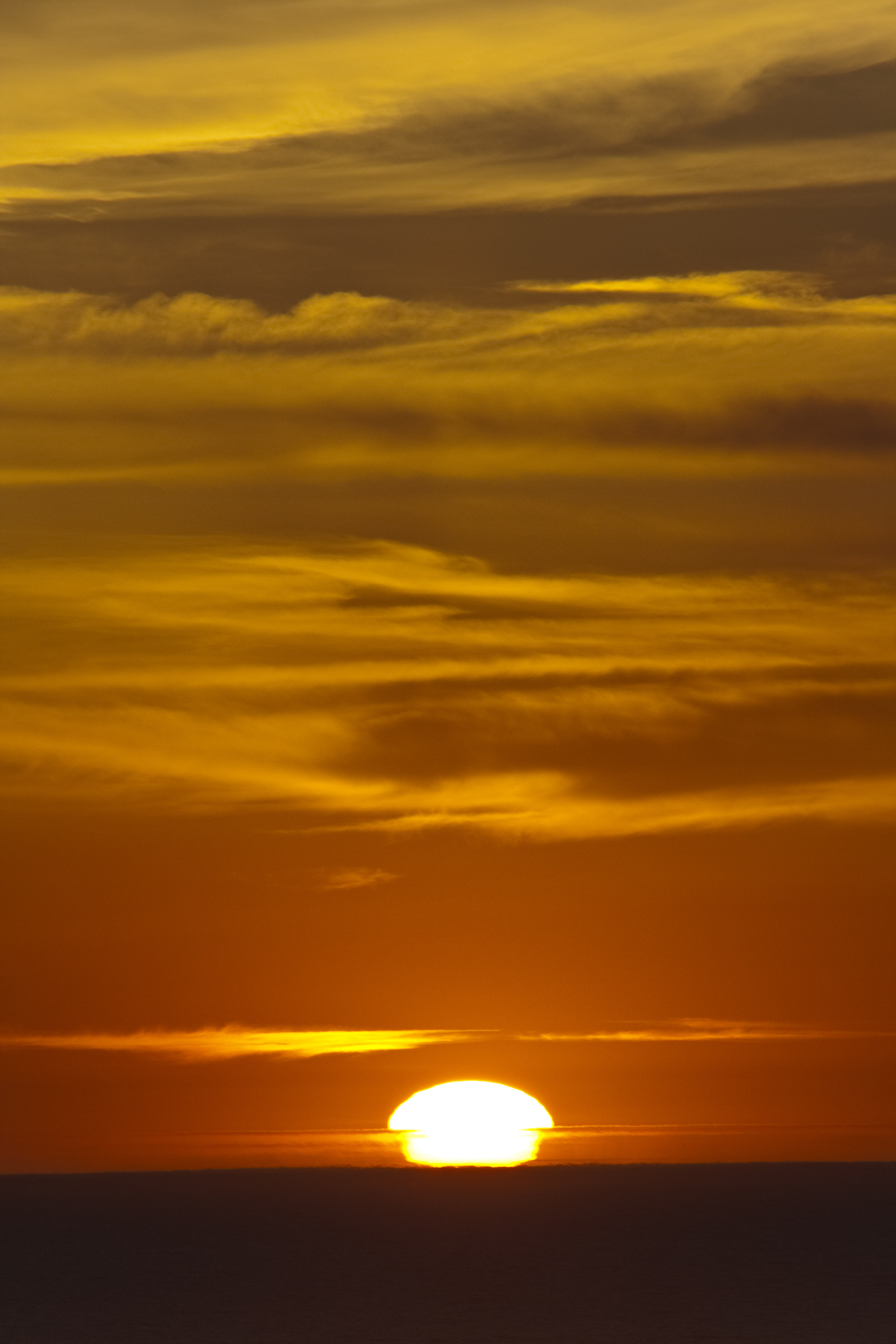 123574 download wallpaper Nature, Sunset, Horizon, Sky, Sun screensavers and pictures for free