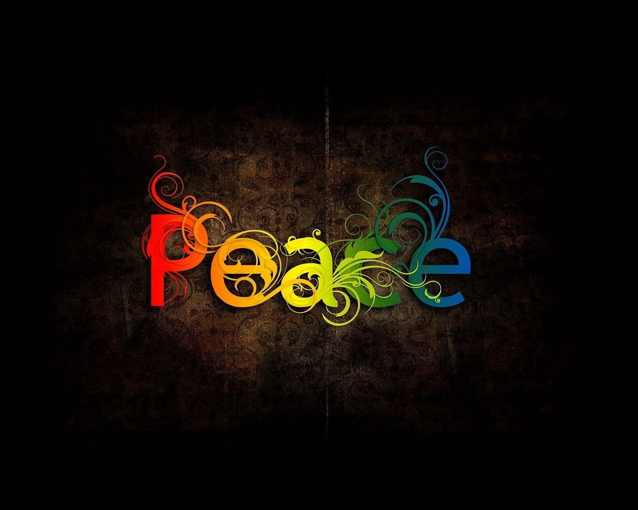 145366 Hintergrundbild herunterladen Abstrakt, Patterns, Die Wörter, Wörter, Farbe, Farbige, Frieden - Bildschirmschoner und Bilder kostenlos