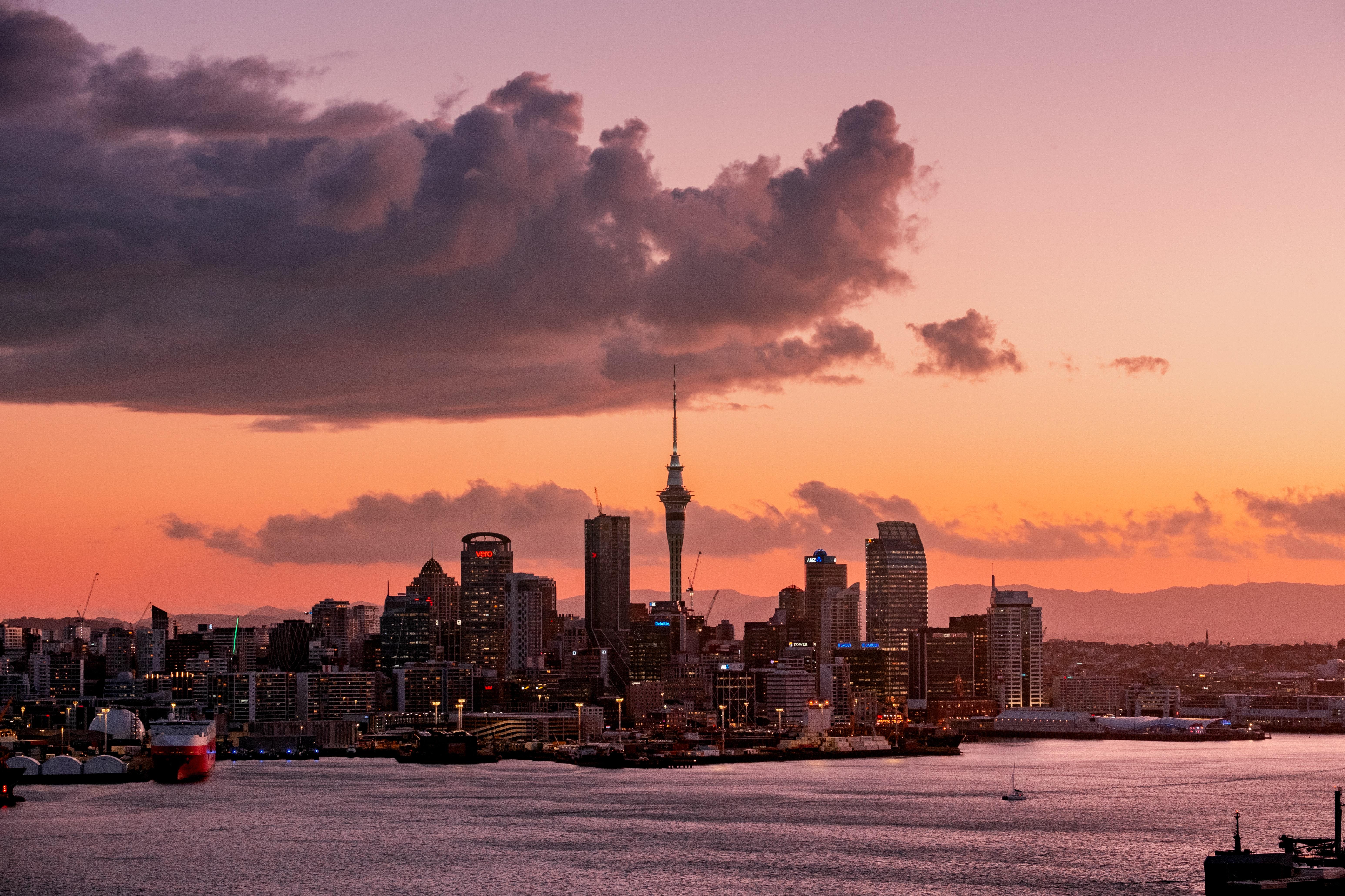 146844壁紙のダウンロード市, 都市, 建物, 海岸, オークランド, ニュージーランド-スクリーンセーバーと写真を無料で