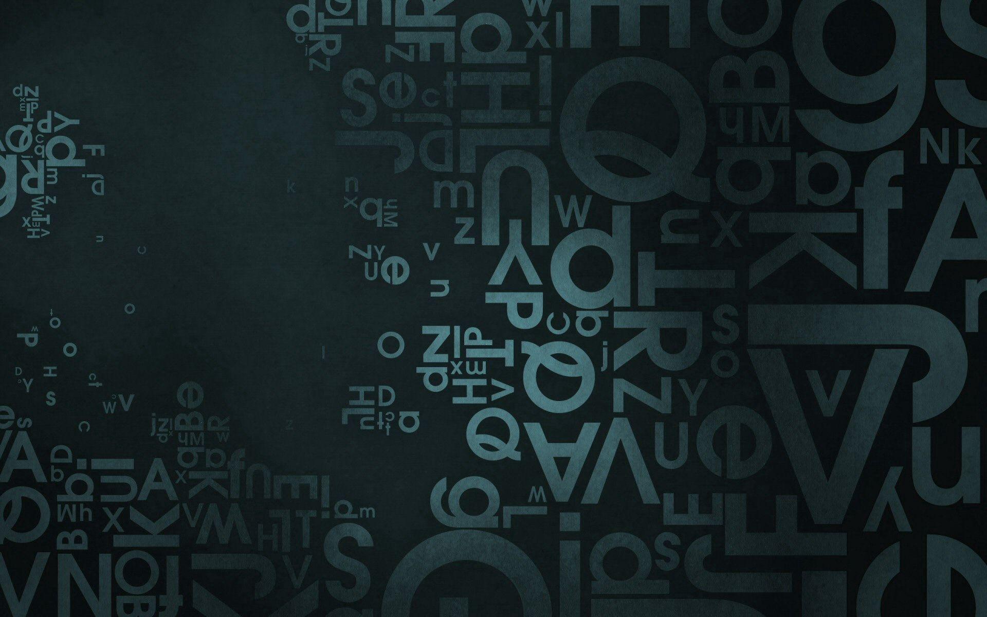 74893 скачать обои Текстуры, Фон, Текстура, Поверхность, Темный, Буквы - заставки и картинки бесплатно