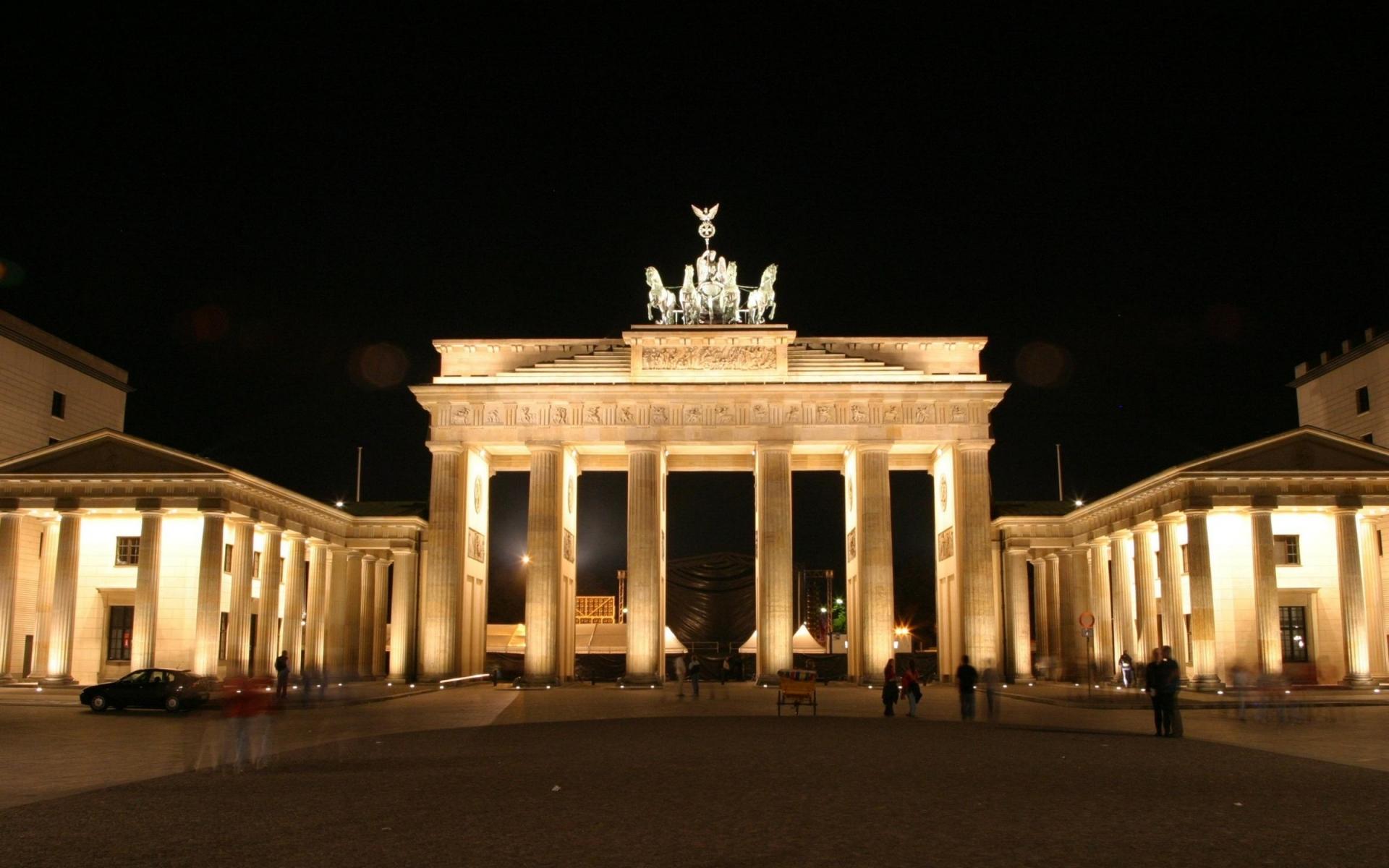199 скачать обои Города, Ночь, Архитектура, Берлин (Berlin) - заставки и картинки бесплатно