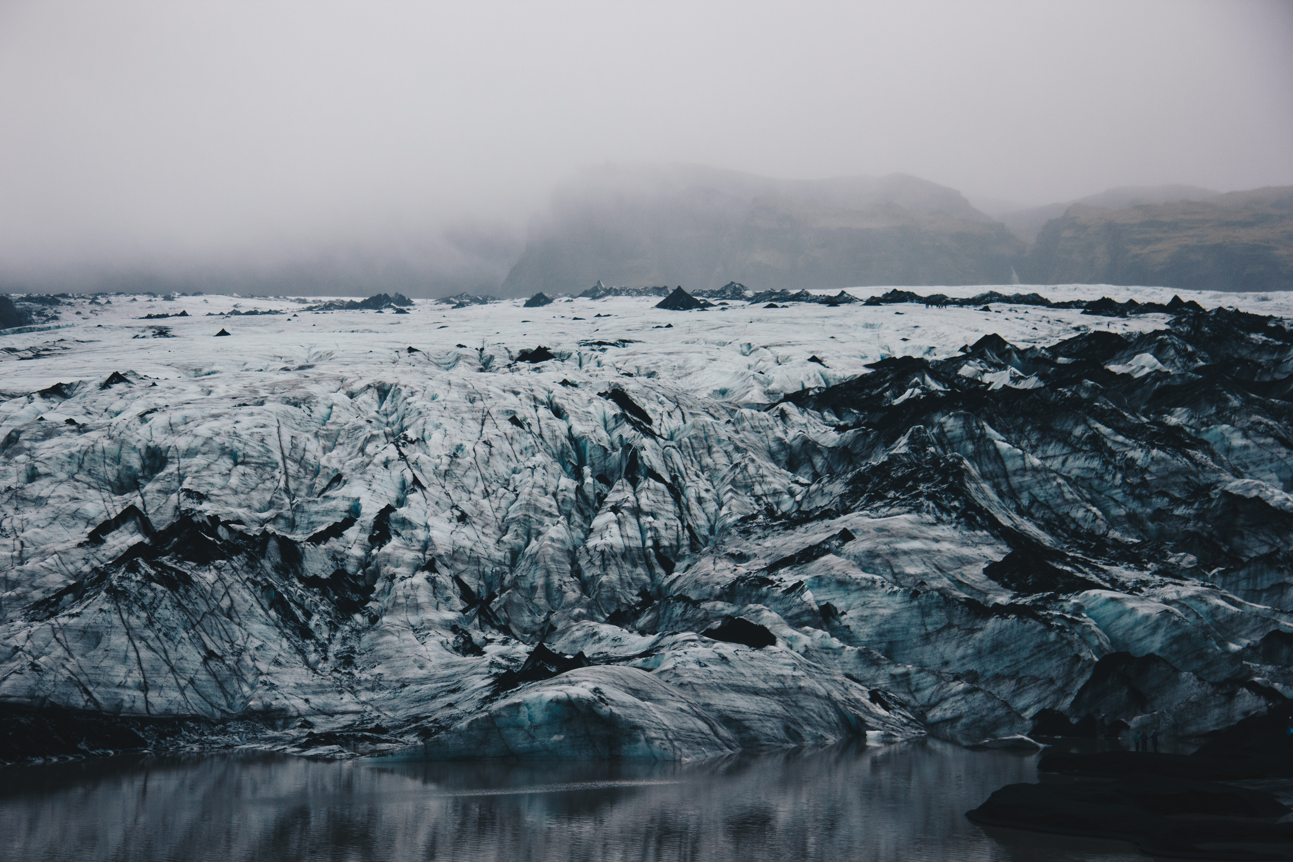 66241 скачать обои Природа, Исландия, Льдины, Лед, Берег - заставки и картинки бесплатно