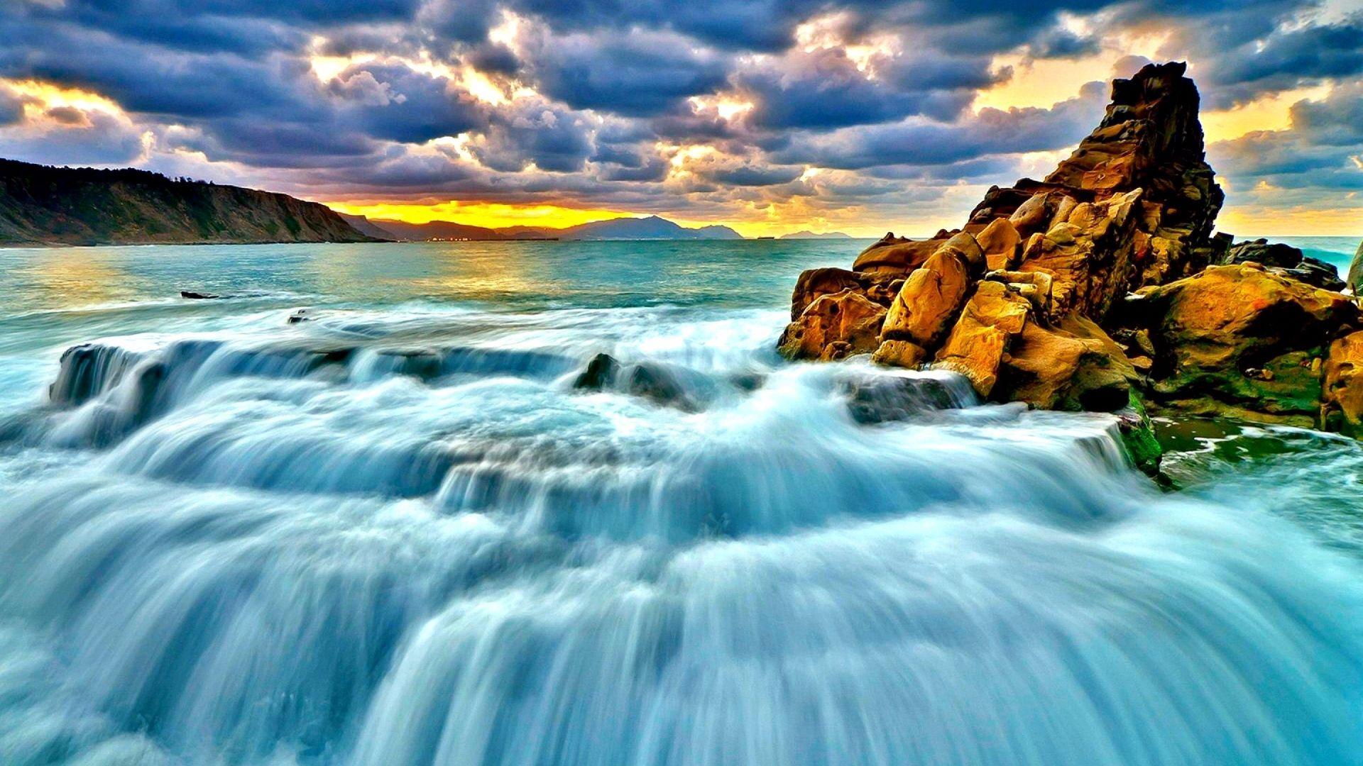 93731 papel de parede 480x800 em seu telefone gratuitamente, baixe imagens Natureza, Pôr Do Sol, Mar, Surf, Cascata, Surfar 480x800 em seu celular