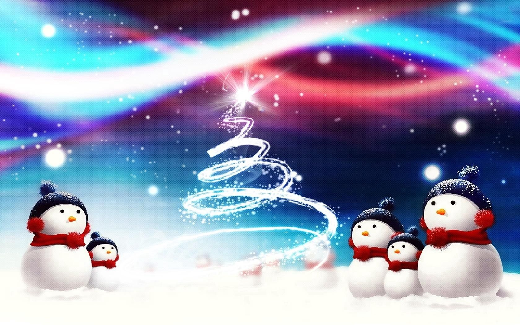 118048 download wallpaper Holidays, New Year, Snowman, Silhouette, Christmas, Christmas Tree, Attribute screensavers and pictures for free