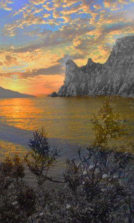 44241 télécharger le fond d'écran Paysage, Nature, Montagnes, Mer - économiseurs d'écran et images gratuitement