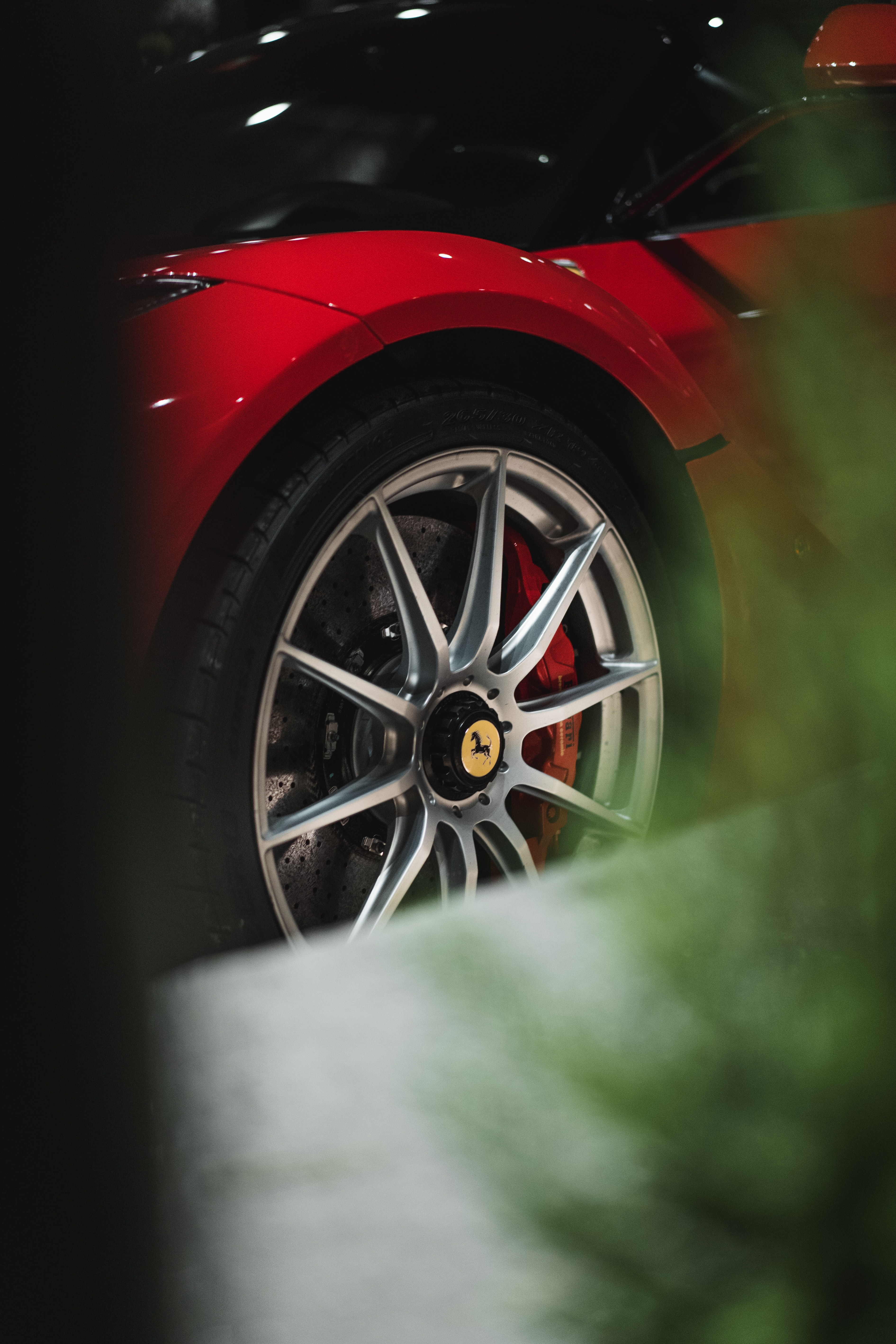 105886 download wallpaper Cars, Ferrari, Car, Sports Car, Sports, Wheel screensavers and pictures for free