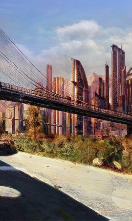 32288 скачать обои Пейзаж, Города, Мосты, Архитектура - заставки и картинки бесплатно