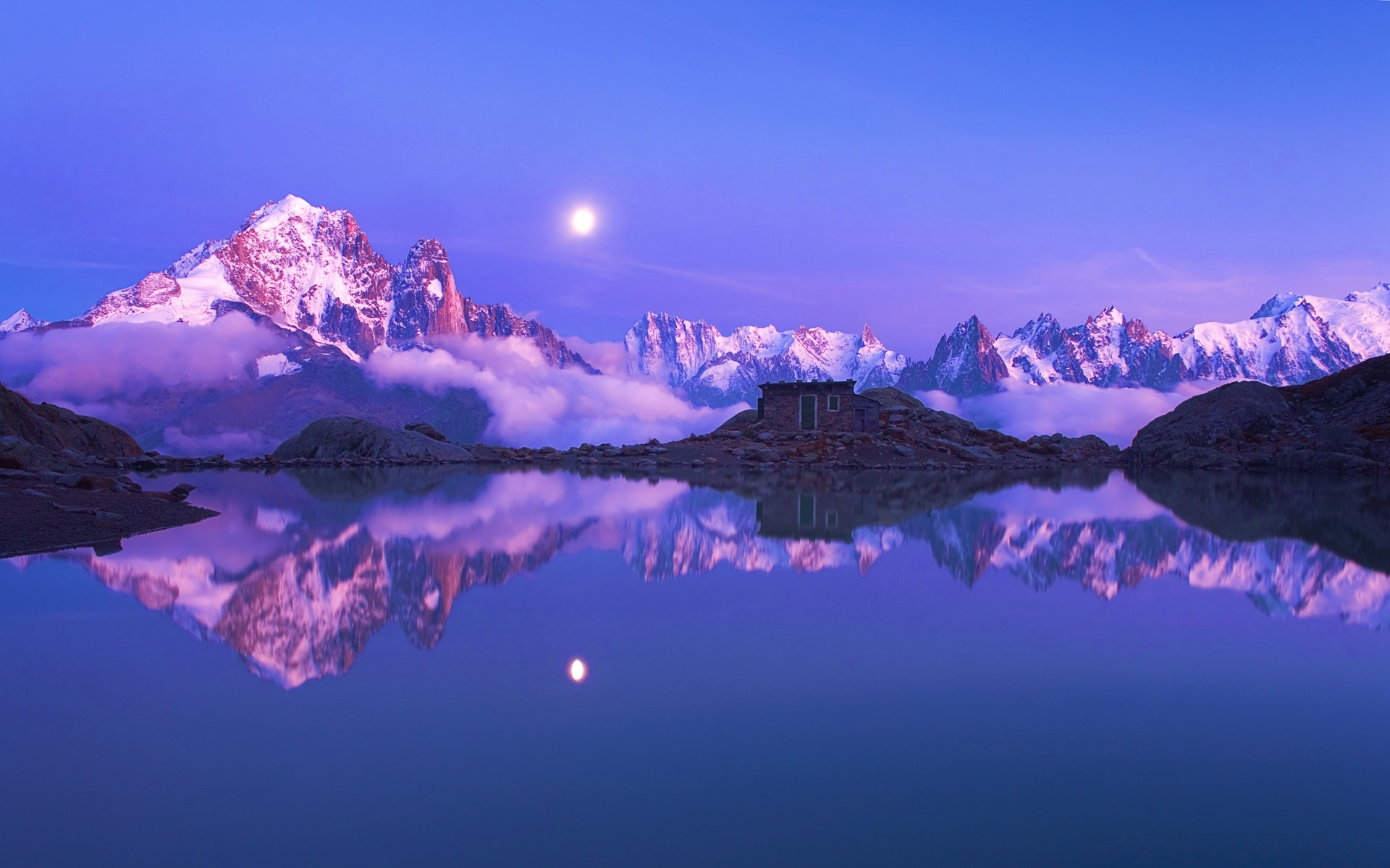 49869 Screensavers and Wallpapers Lakes for phone. Download Landscape, Nature, Night, Lakes pictures for free