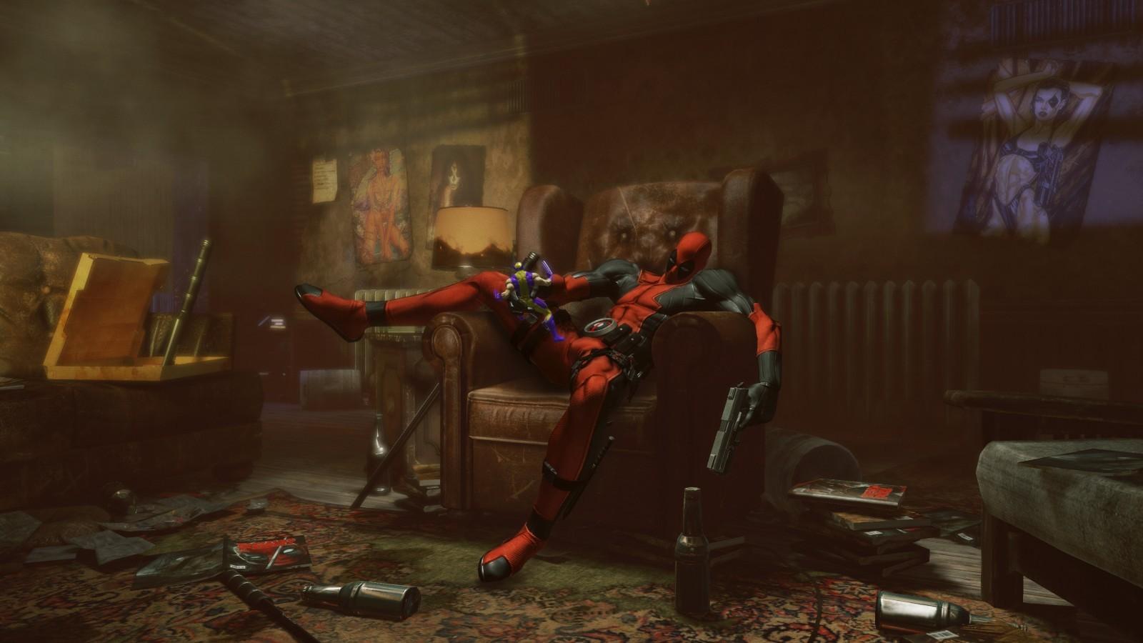 17586 скачать обои Deadpool, Игры - заставки и картинки бесплатно