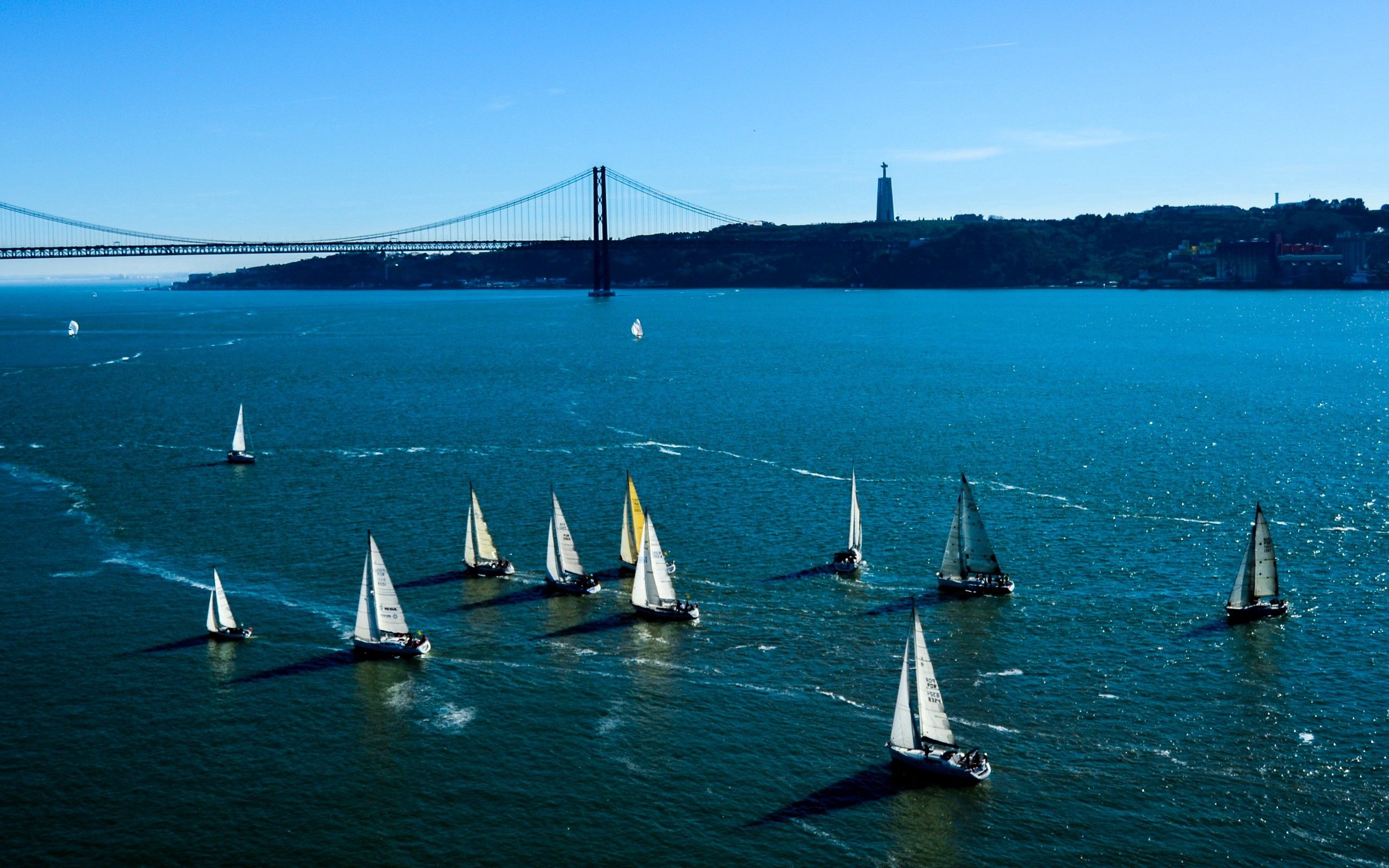 114061 download wallpaper Nature, Sail, Sails, Sea, To Swim, Swim screensavers and pictures for free