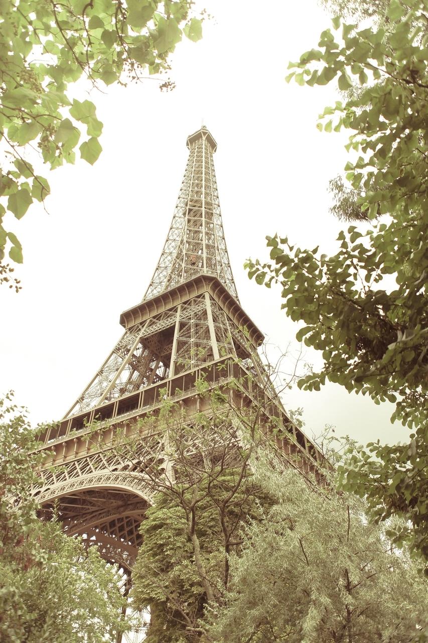 16440 скачать обои Архитектура, Париж, Эйфелева Башня - заставки и картинки бесплатно