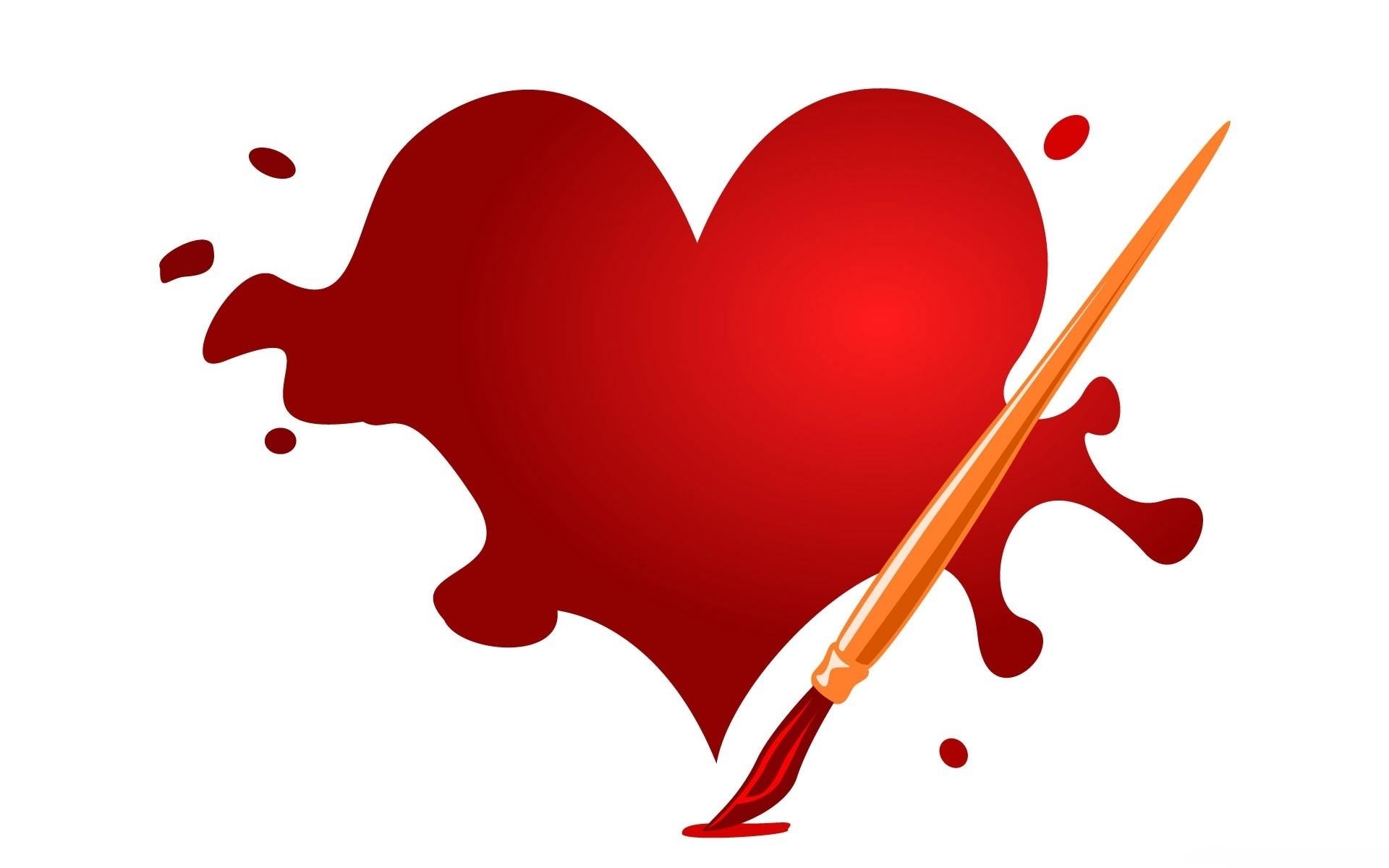 7833 скачать обои Праздники, Сердца, Любовь, День Святого Валентина (Valentine's Day), Рисунки - заставки и картинки бесплатно