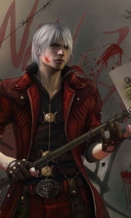 24976 download wallpaper Games, Devil May Cry screensavers and pictures for free