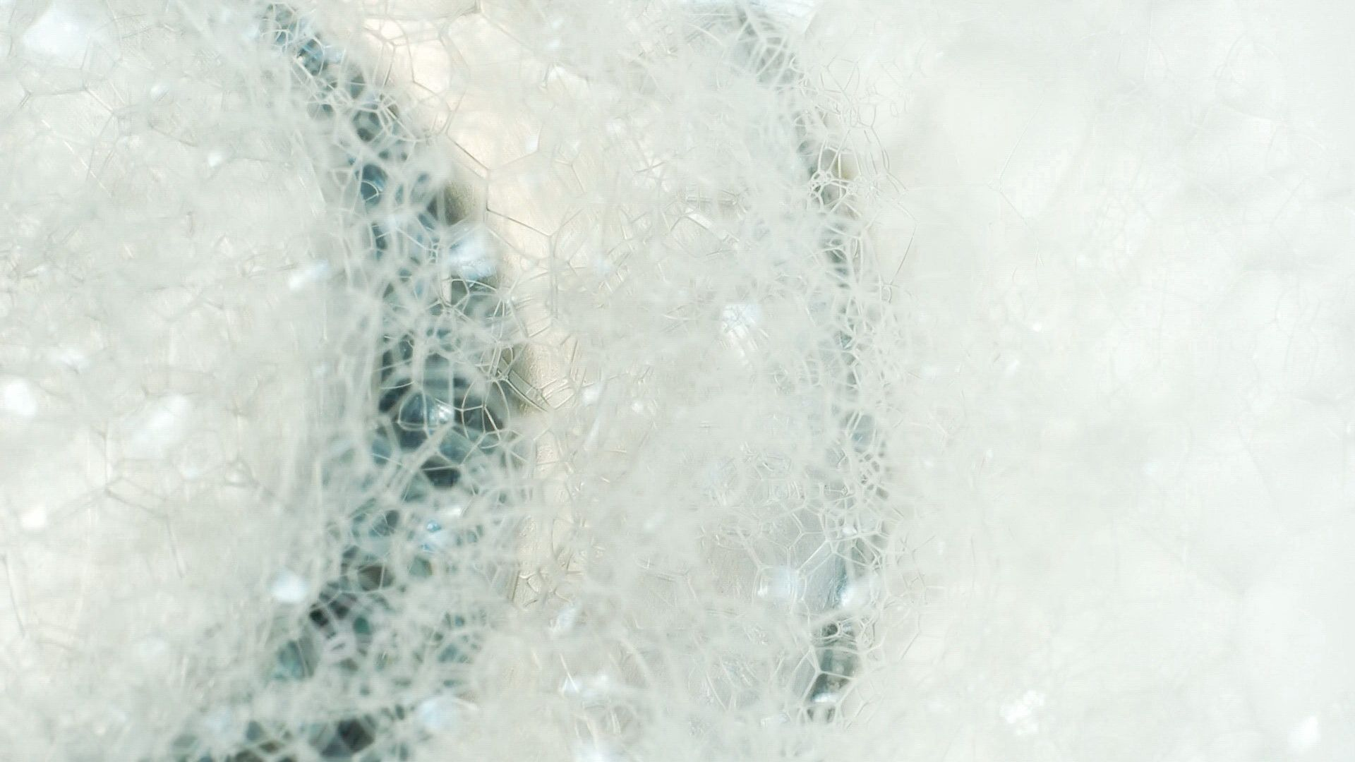 76264 download wallpaper Macro, Foam, Background, Bubbles screensavers and pictures for free